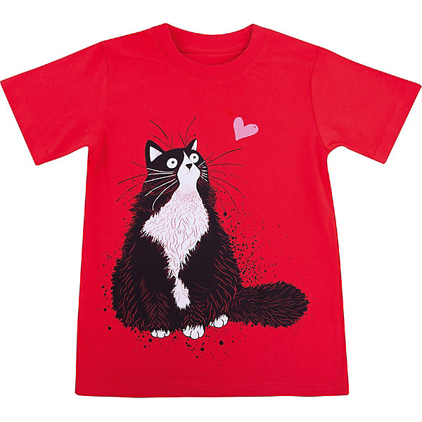 Футболка для девочки WOWФутболки, поло и топы<br>Футболка для девочки WOW<br>Незаменимой вещью в  гардеробе послужит футболка с коротким рукавом. Стильная и в тоже время комфортная модель, с яркой оригинальной печатью, будет превосходно смотреться на ребенке.<br>Состав:<br>кулирная гладь 100% хлопок<br>Ширина мм: 199; Глубина мм: 10; Высота мм: 161; Вес г: 151; Цвет: красный; Возраст от месяцев: 132; Возраст до месяцев: 144; Пол: Женский; Возраст: Детский; Размер: 152,158,128,134,140; SKU: 6871600;