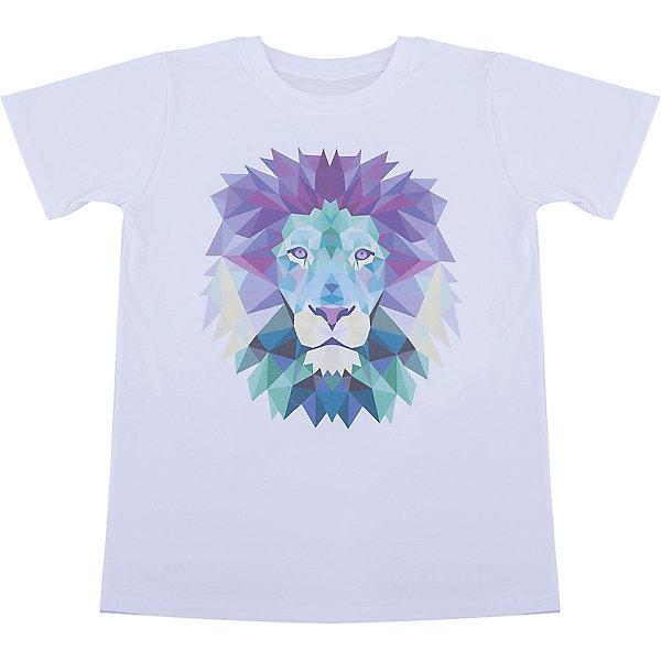 Футболка для девочки WOWФутболки, поло и топы<br>Футболка для девочки WOW<br>Незаменимой вещью в  гардеробе послужит футболка с коротким рукавом. Стильная и в тоже время комфортная модель, с яркой оригинальной печатью, будет превосходно смотреться на ребенке.<br>Состав:<br>кулирная гладь 100% хлопок<br><br>Ширина мм: 199<br>Глубина мм: 10<br>Высота мм: 161<br>Вес г: 151<br>Цвет: белый<br>Возраст от месяцев: 96<br>Возраст до месяцев: 108<br>Пол: Женский<br>Возраст: Детский<br>Размер: 134,158,152,146,140<br>SKU: 6871606