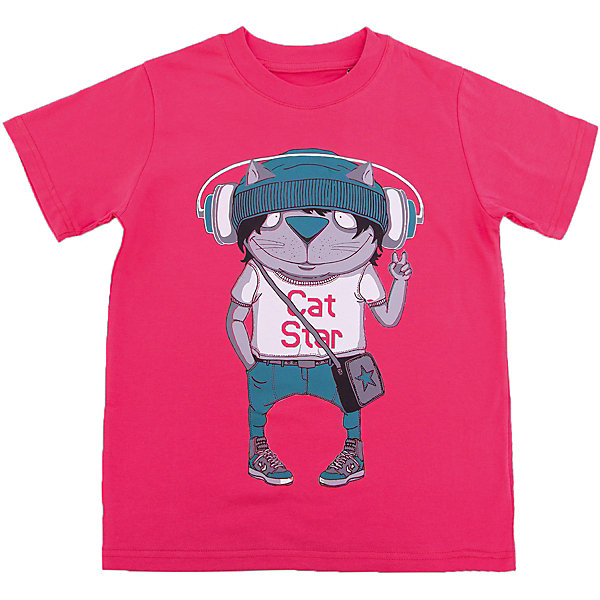 Футболка для мальчика WOWФутболки, поло и топы<br>Футболка для мальчика WOW<br>Незаменимой вещью в  гардеробе послужит футболка с коротким рукавом. Стильная и в тоже время комфортная модель, с яркой оригинальной печатью, будет превосходно смотреться на ребенке.<br>Состав:<br>кулирная гладь 100% хлопок<br><br>Ширина мм: 199<br>Глубина мм: 10<br>Высота мм: 161<br>Вес г: 151<br>Цвет: красный<br>Возраст от месяцев: 24<br>Возраст до месяцев: 36<br>Пол: Мужской<br>Возраст: Детский<br>Размер: 122,98,116,110,104<br>SKU: 6871620