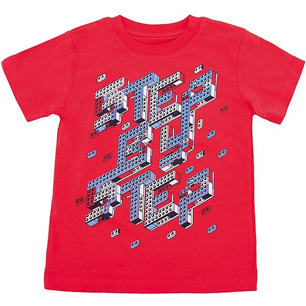 Футболка для мальчика WOWФутболки, поло и топы<br>Футболка для мальчика WOW<br>Незаменимой вещью в  гардеробе послужит футболка с коротким рукавом. Стильная и в тоже время комфортная модель, с яркой оригинальной печатью, будет превосходно смотреться на ребенке.<br>Состав:<br>кулирная гладь 100% хлопок<br><br>Ширина мм: 199<br>Глубина мм: 10<br>Высота мм: 161<br>Вес г: 151<br>Цвет: красный<br>Возраст от месяцев: 24<br>Возраст до месяцев: 36<br>Пол: Мужской<br>Возраст: Детский<br>Размер: 98,122,116,110,104<br>SKU: 6871626