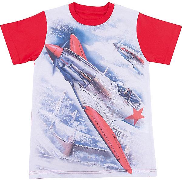 Футболка для мальчика WOWФутболки, поло и топы<br>Футболка для мальчика WOW<br>Незаменимой вещью в  гардеробе послужит футболка с коротким рукавом. Стильная и в тоже время комфортная модель, с яркой оригинальной печатью, будет превосходно смотреться на ребенке.<br>Состав:<br>кулирная гладь 100% хлопок<br>Ширина мм: 199; Глубина мм: 10; Высота мм: 161; Вес г: 151; Цвет: красный/белый; Возраст от месяцев: 156; Возраст до месяцев: 168; Пол: Мужской; Возраст: Детский; Размер: 164,128,134,140,146,152,158; SKU: 6871638;