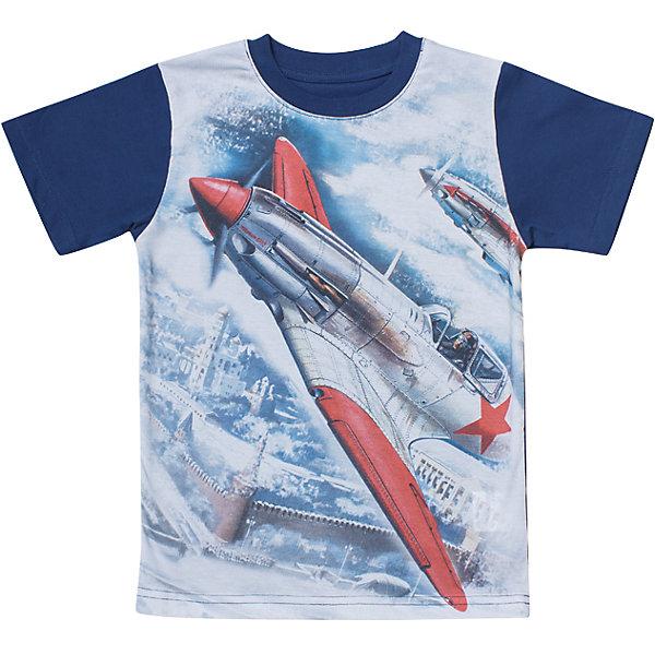 Футболка для мальчика WOWФутболки, поло и топы<br>Футболка для мальчика WOW<br>Незаменимой вещью в  гардеробе послужит футболка с коротким рукавом. Стильная и в тоже время комфортная модель, с яркой оригинальной печатью, будет превосходно смотреться на ребенке.<br>Состав:<br>кулирная гладь 100% хлопок<br>Ширина мм: 199; Глубина мм: 10; Высота мм: 161; Вес г: 151; Цвет: синий/белый; Возраст от месяцев: 120; Возраст до месяцев: 132; Пол: Мужской; Возраст: Детский; Размер: 146,158,152,140,134,128,164; SKU: 6871646;
