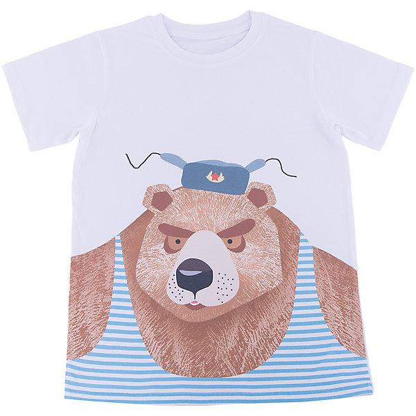 Футболка для мальчика WOWФутболки, поло и топы<br>Футболка для мальчика WOW<br>Незаменимой вещью в  гардеробе послужит футболка с коротким рукавом. Стильная и в тоже время комфортная модель, с яркой оригинальной печатью, будет превосходно смотреться на ребенке.<br>Состав:<br>кулирная гладь 100% хлопок<br><br>Ширина мм: 199<br>Глубина мм: 10<br>Высота мм: 161<br>Вес г: 151<br>Цвет: белый<br>Возраст от месяцев: 156<br>Возраст до месяцев: 168<br>Пол: Мужской<br>Возраст: Детский<br>Размер: 164,128,158,152,146,140,134<br>SKU: 6871654