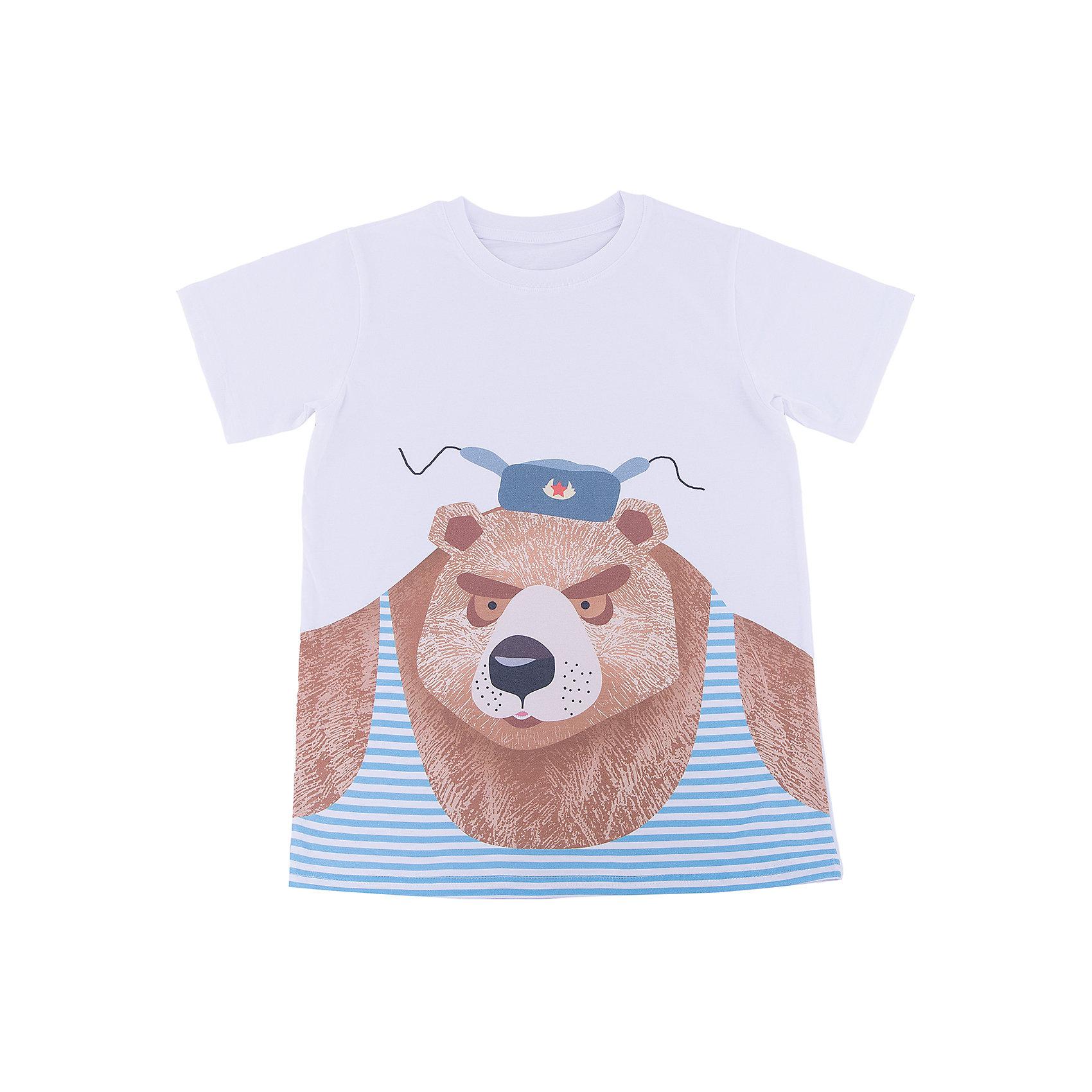 Футболка для мальчика WOWФутболки, поло и топы<br>Футболка для мальчика WOW<br>Незаменимой вещью в  гардеробе послужит футболка с коротким рукавом. Стильная и в тоже время комфортная модель, с яркой оригинальной печатью, будет превосходно смотреться на ребенке.<br>Состав:<br>кулирная гладь 100% хлопок<br><br>Ширина мм: 199<br>Глубина мм: 10<br>Высота мм: 161<br>Вес г: 151<br>Цвет: белый<br>Возраст от месяцев: 156<br>Возраст до месяцев: 168<br>Пол: Мужской<br>Возраст: Детский<br>Размер: 164,128,134,140,146,152,158<br>SKU: 6871654