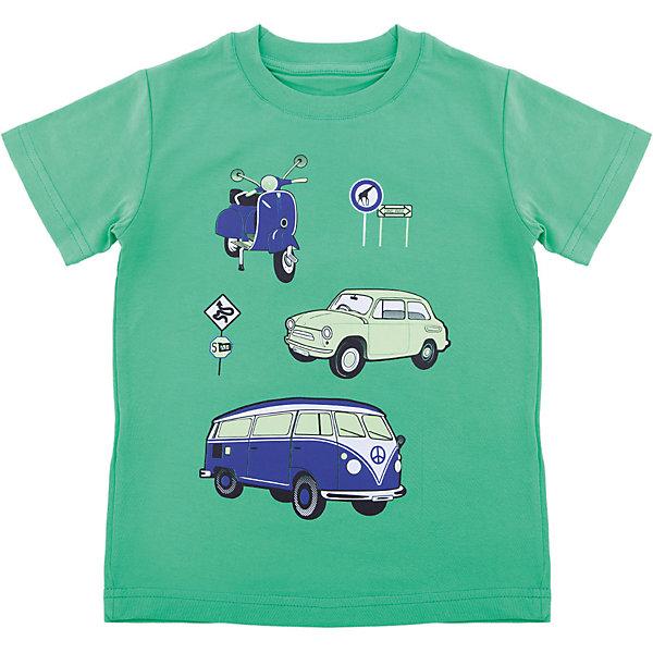 Футболка для мальчика WOWФутболки, поло и топы<br>Футболка для мальчика WOW<br>Незаменимой вещью в  гардеробе послужит футболка с коротким рукавом. Стильная и в тоже время комфортная модель, с яркой оригинальной печатью, будет превосходно смотреться на ребенке.<br>Состав:<br>кулирная гладь 100% хлопок<br><br>Ширина мм: 199<br>Глубина мм: 10<br>Высота мм: 161<br>Вес г: 151<br>Цвет: зеленый<br>Возраст от месяцев: 24<br>Возраст до месяцев: 36<br>Пол: Мужской<br>Возраст: Детский<br>Размер: 98,122,116,110,104<br>SKU: 6871662