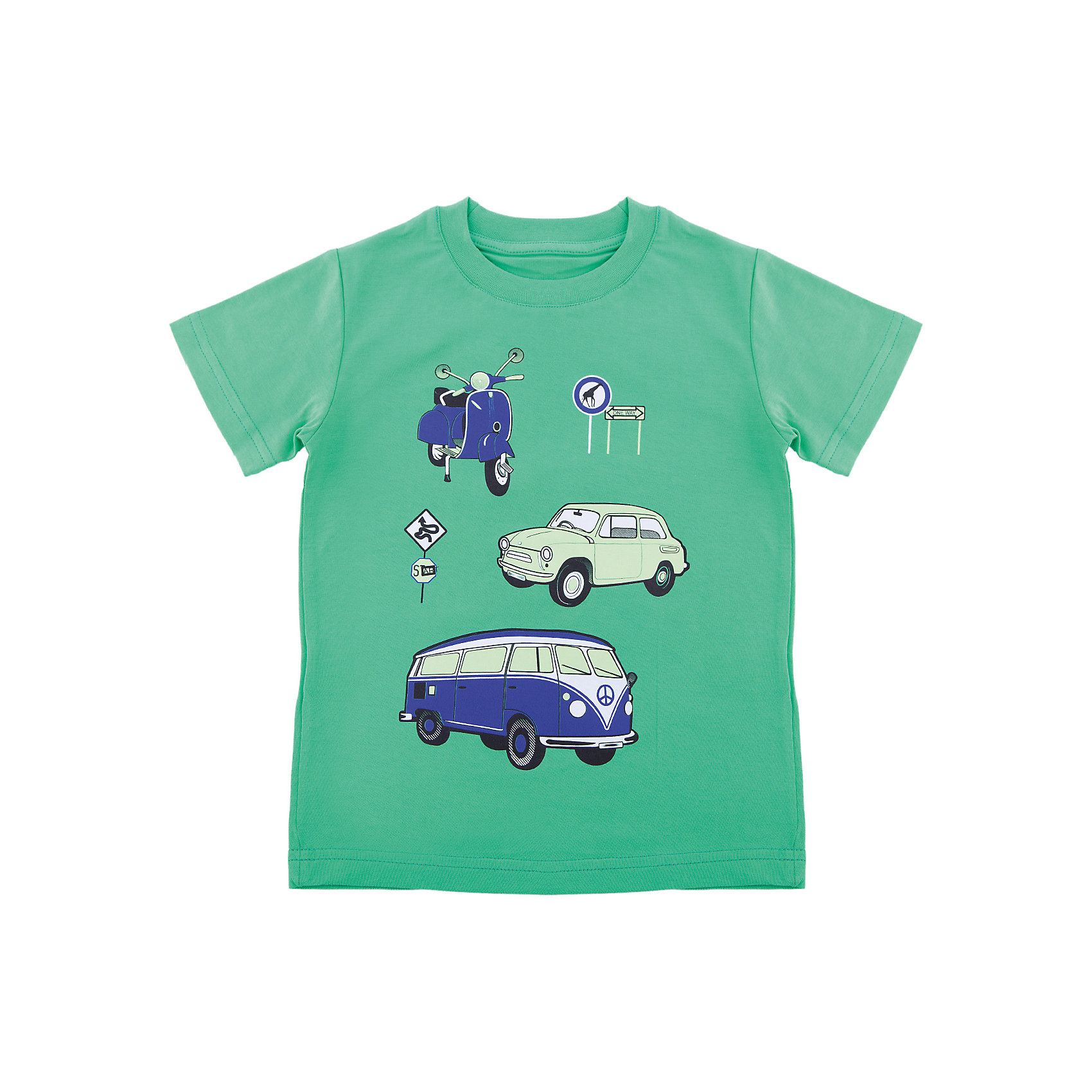 Футболка для мальчика WOWФутболки, поло и топы<br>Футболка для мальчика WOW<br>Незаменимой вещью в  гардеробе послужит футболка с коротким рукавом. Стильная и в тоже время комфортная модель, с яркой оригинальной печатью, будет превосходно смотреться на ребенке.<br>Состав:<br>кулирная гладь 100% хлопок<br><br>Ширина мм: 199<br>Глубина мм: 10<br>Высота мм: 161<br>Вес г: 151<br>Цвет: зеленый<br>Возраст от месяцев: 72<br>Возраст до месяцев: 84<br>Пол: Мужской<br>Возраст: Детский<br>Размер: 122,98,104,110,116<br>SKU: 6871662