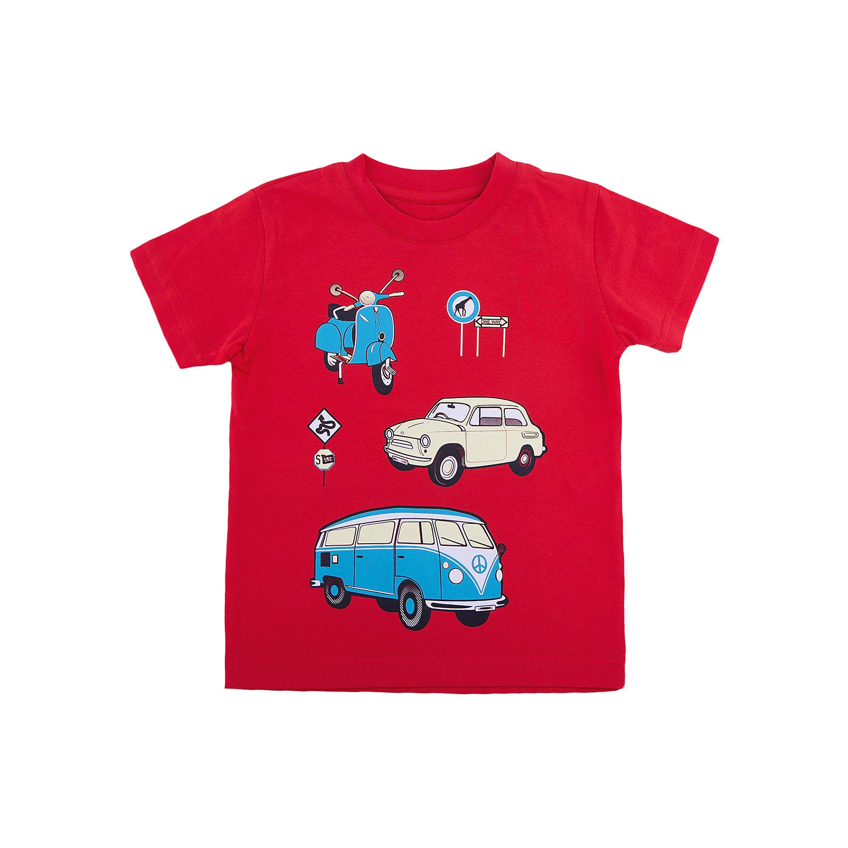 Футболка для мальчика WOWФутболки, поло и топы<br>Футболка для мальчика WOW<br>Незаменимой вещью в  гардеробе послужит футболка с коротким рукавом. Стильная и в тоже время комфортная модель, с яркой оригинальной печатью, будет превосходно смотреться на ребенке.<br>Состав:<br>кулирная гладь 100% хлопок<br><br>Ширина мм: 199<br>Глубина мм: 10<br>Высота мм: 161<br>Вес г: 151<br>Цвет: красный<br>Возраст от месяцев: 36<br>Возраст до месяцев: 48<br>Пол: Мужской<br>Возраст: Детский<br>Размер: 104,116,122,110,98<br>SKU: 6871668