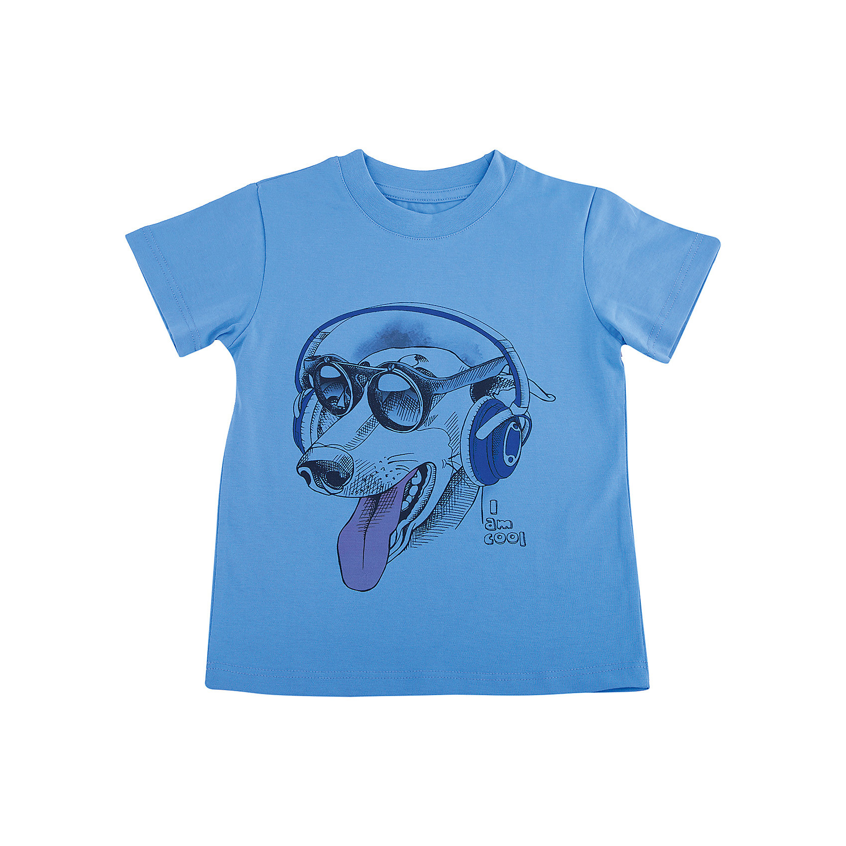 Футболка для мальчика WOWФутболки, поло и топы<br>Футболка для мальчика WOW<br>Незаменимой вещью в  гардеробе послужит футболка с коротким рукавом. Стильная и в тоже время комфортная модель, с яркой оригинальной печатью, будет превосходно смотреться на ребенке.<br>Состав:<br>кулирная гладь 100% хлопок<br><br>Ширина мм: 199<br>Глубина мм: 10<br>Высота мм: 161<br>Вес г: 151<br>Цвет: голубой<br>Возраст от месяцев: 72<br>Возраст до месяцев: 84<br>Пол: Мужской<br>Возраст: Детский<br>Размер: 122,98,104,110,116<br>SKU: 6871686