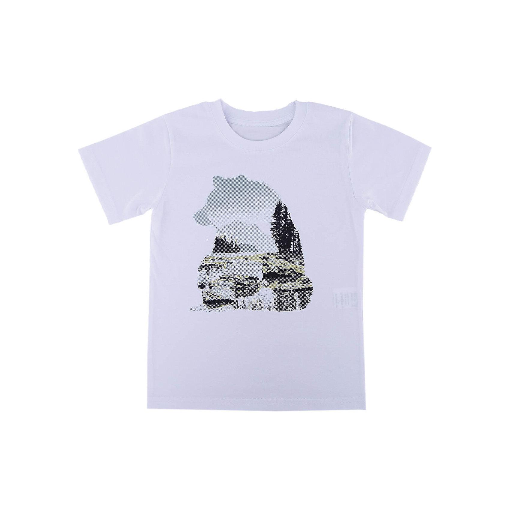 Футболка для мальчика WOWФутболки, поло и топы<br>Футболка для мальчика WOW<br>Незаменимой вещью в  гардеробе послужит футболка с коротким рукавом. Стильная и в тоже время комфортная модель, с яркой оригинальной печатью, будет превосходно смотреться на ребенке.<br>Состав:<br>кулирная гладь 100% хлопок<br><br>Ширина мм: 199<br>Глубина мм: 10<br>Высота мм: 161<br>Вес г: 151<br>Цвет: белый<br>Возраст от месяцев: 144<br>Возраст до месяцев: 156<br>Пол: Мужской<br>Возраст: Детский<br>Размер: 158,140,134,128,164,152,146<br>SKU: 6871692