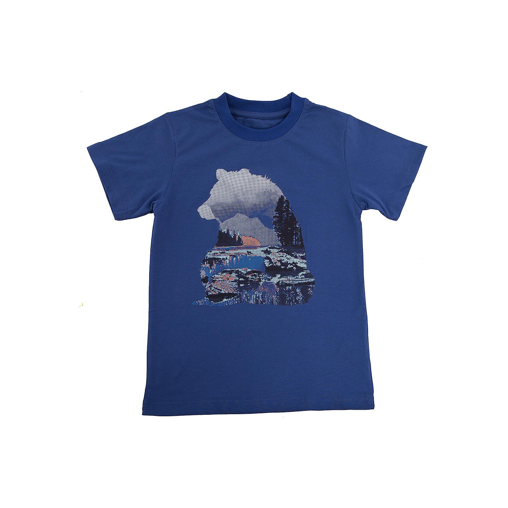 Футболка для мальчика WOWФутболки, поло и топы<br>Футболка для мальчика WOW<br>Незаменимой вещью в  гардеробе послужит футболка с коротким рукавом. Стильная и в тоже время комфортная модель, с яркой оригинальной печатью, будет превосходно смотреться на ребенке.<br>Состав:<br>кулирная гладь 100% хлопок<br><br>Ширина мм: 199<br>Глубина мм: 10<br>Высота мм: 161<br>Вес г: 151<br>Цвет: синий<br>Возраст от месяцев: 144<br>Возраст до месяцев: 156<br>Пол: Мужской<br>Возраст: Детский<br>Размер: 158,128,134,140,146,152<br>SKU: 6871708