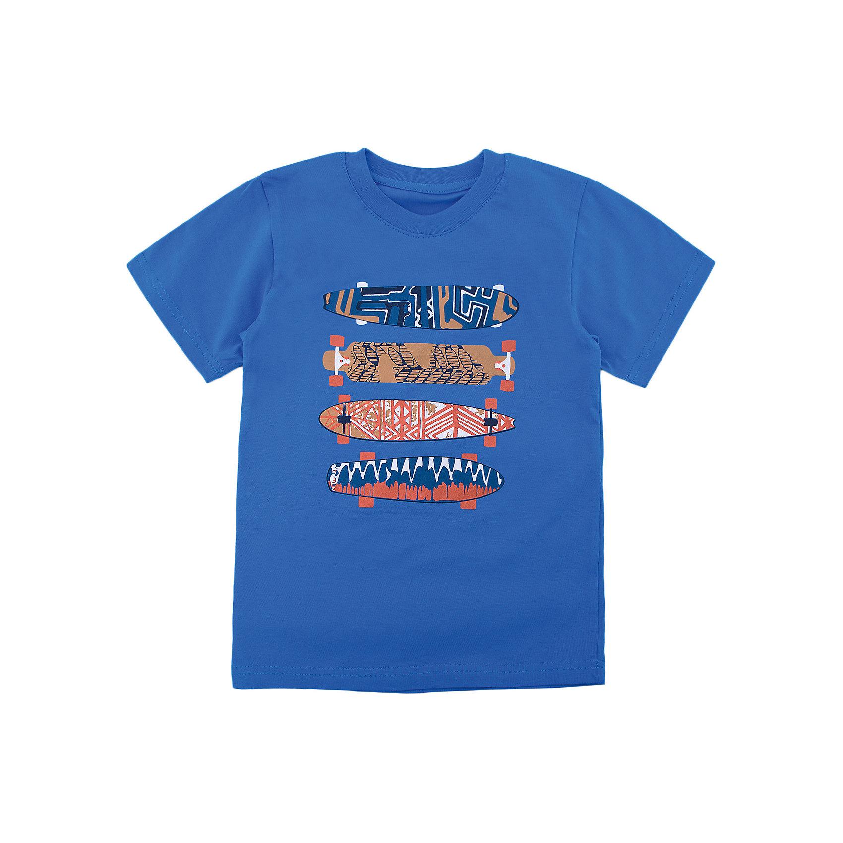 Футболка для мальчика WOWФутболки, поло и топы<br>Футболка для мальчика WOW<br>Незаменимой вещью в  гардеробе послужит футболка с коротким рукавом. Стильная и в тоже время комфортная модель, с яркой оригинальной печатью, будет превосходно смотреться на ребенке.<br>Состав:<br>кулирная гладь 100% хлопок<br><br>Ширина мм: 199<br>Глубина мм: 10<br>Высота мм: 161<br>Вес г: 151<br>Цвет: синий<br>Возраст от месяцев: 144<br>Возраст до месяцев: 156<br>Пол: Мужской<br>Возраст: Детский<br>Размер: 158,164,128,134,140,146,152<br>SKU: 6871715