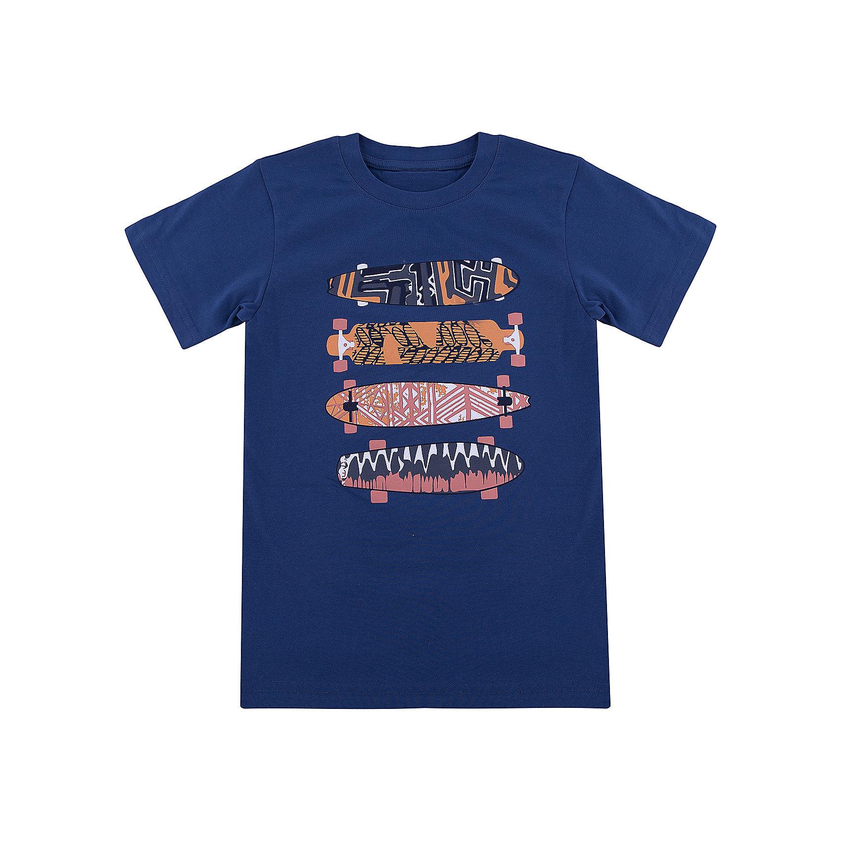Футболка для мальчика WOWФутболки, поло и топы<br>Футболка для мальчика WOW<br>Незаменимой вещью в  гардеробе послужит футболка с коротким рукавом. Стильная и в тоже время комфортная модель, с яркой оригинальной печатью, будет превосходно смотреться на ребенке.<br>Состав:<br>кулирная гладь 100% хлопок<br><br>Ширина мм: 199<br>Глубина мм: 10<br>Высота мм: 161<br>Вес г: 151<br>Цвет: синий<br>Возраст от месяцев: 156<br>Возраст до месяцев: 168<br>Пол: Мужской<br>Возраст: Детский<br>Размер: 164,128,134,140,146,152,158<br>SKU: 6871731