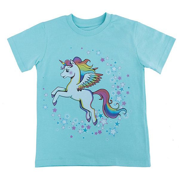 Футболка для девочки WOWФутболки, поло и топы<br>Футболка для девочки WOW<br>Незаменимой вещью в  гардеробе послужит футболка с коротким рукавом. Стильная и в тоже время комфортная модель, с яркой оригинальной печатью, будет превосходно смотреться на ребенке.<br>Состав:<br>кулирная гладь 100% хлопок<br><br>Ширина мм: 199<br>Глубина мм: 10<br>Высота мм: 161<br>Вес г: 151<br>Цвет: голубой<br>Возраст от месяцев: 48<br>Возраст до месяцев: 60<br>Пол: Женский<br>Возраст: Детский<br>Размер: 98,122,116,110,104<br>SKU: 6871745