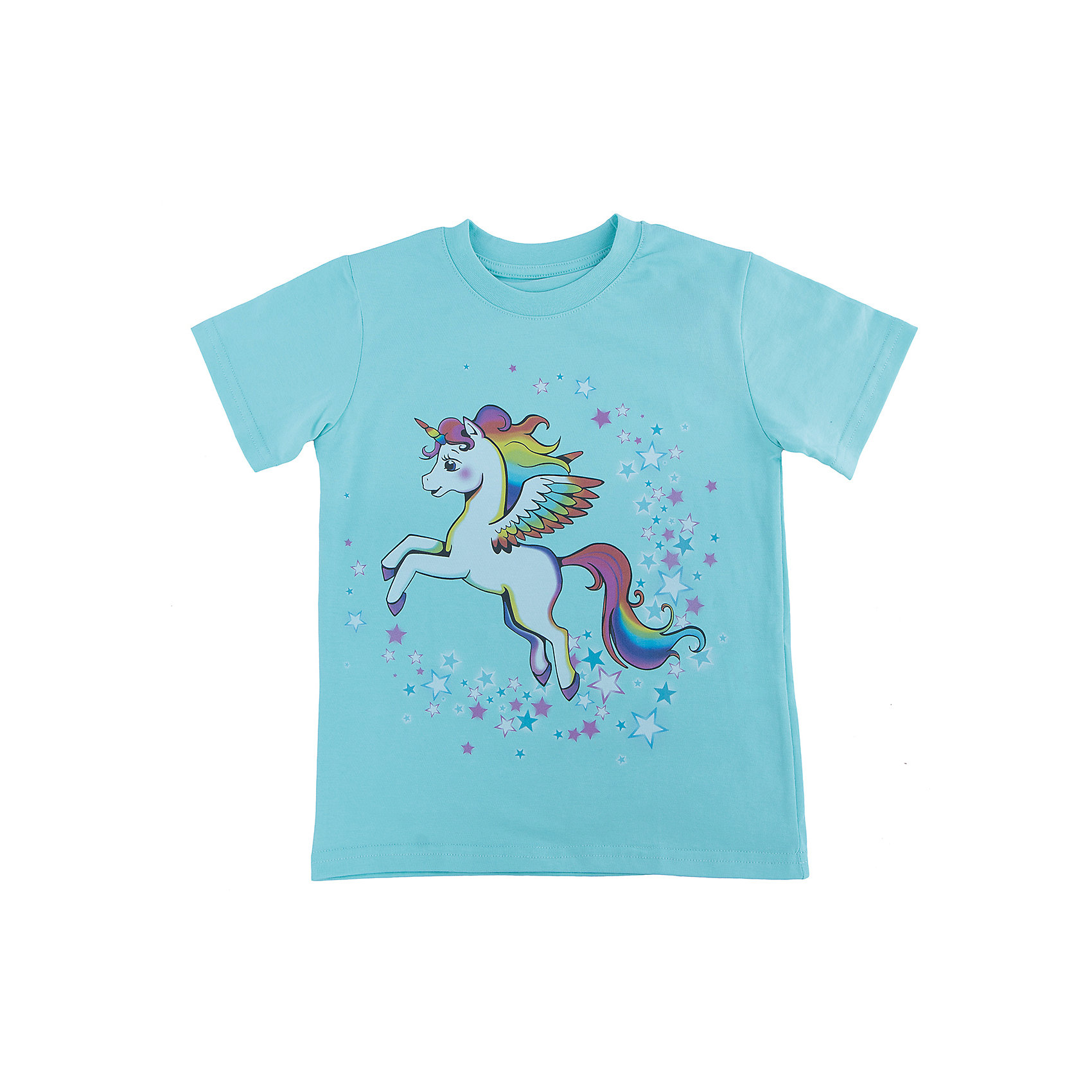 Футболка для девочки WOWФутболки, поло и топы<br>Футболка для девочки WOW<br>Незаменимой вещью в  гардеробе послужит футболка с коротким рукавом. Стильная и в тоже время комфортная модель, с яркой оригинальной печатью, будет превосходно смотреться на ребенке.<br>Состав:<br>кулирная гладь 100% хлопок<br><br>Ширина мм: 199<br>Глубина мм: 10<br>Высота мм: 161<br>Вес г: 151<br>Цвет: голубой<br>Возраст от месяцев: 72<br>Возраст до месяцев: 84<br>Пол: Женский<br>Возраст: Детский<br>Размер: 122,98,104,110,116<br>SKU: 6871745
