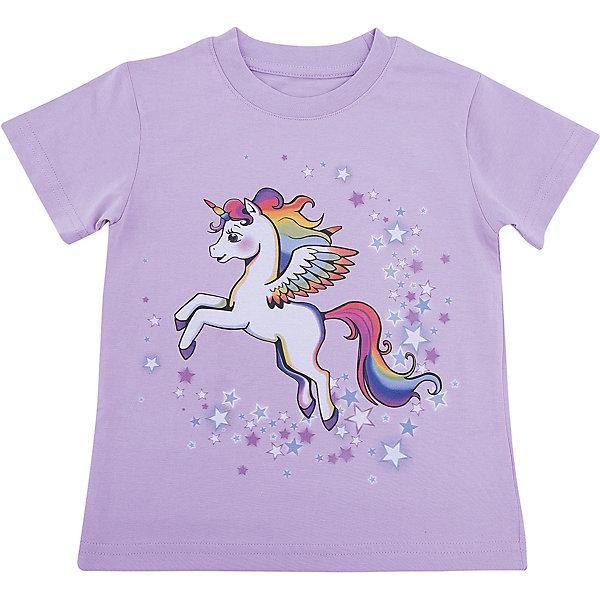 Футболка для девочки WOWФутболки, поло и топы<br>Футболка для девочки WOW<br>Незаменимой вещью в  гардеробе послужит футболка с коротким рукавом. Стильная и в тоже время комфортная модель, с яркой оригинальной печатью, будет превосходно смотреться на ребенке.<br>Состав:<br>кулирная гладь 100% хлопок<br><br>Ширина мм: 199<br>Глубина мм: 10<br>Высота мм: 161<br>Вес г: 151<br>Цвет: лиловый<br>Возраст от месяцев: 72<br>Возраст до месяцев: 84<br>Пол: Женский<br>Возраст: Детский<br>Размер: 122,98,104,110,116<br>SKU: 6871751