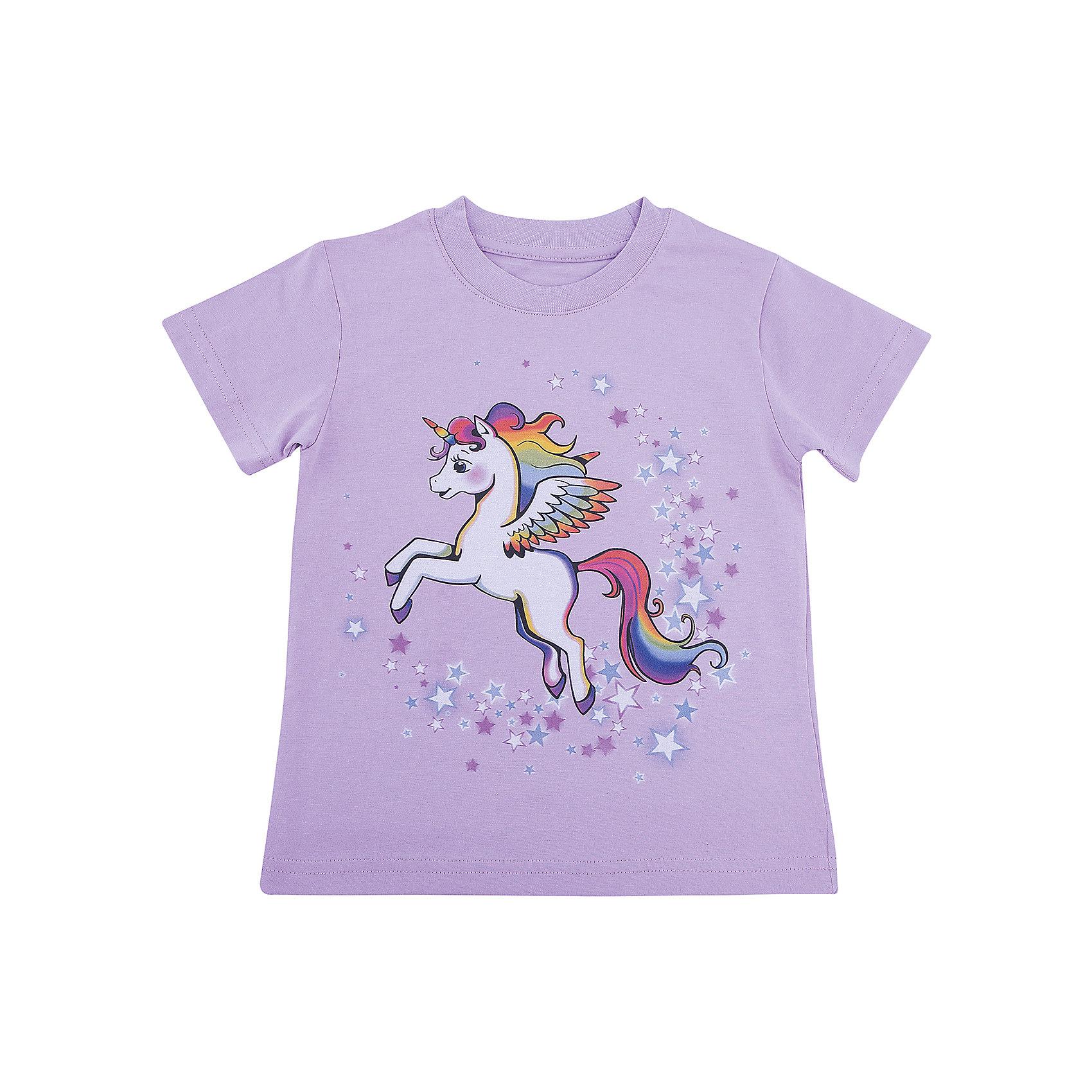 Футболка для девочки WOWФутболки, поло и топы<br>Футболка для девочки WOW<br>Незаменимой вещью в  гардеробе послужит футболка с коротким рукавом. Стильная и в тоже время комфортная модель, с яркой оригинальной печатью, будет превосходно смотреться на ребенке.<br>Состав:<br>кулирная гладь 100% хлопок<br><br>Ширина мм: 199<br>Глубина мм: 10<br>Высота мм: 161<br>Вес г: 151<br>Цвет: фиолетовый<br>Возраст от месяцев: 72<br>Возраст до месяцев: 84<br>Пол: Женский<br>Возраст: Детский<br>Размер: 122,98,104,110,116<br>SKU: 6871751
