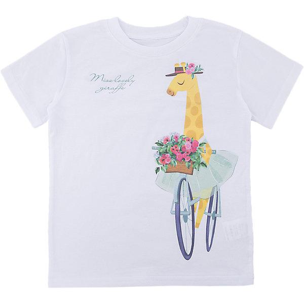 Футболка для девочки WOWФутболки, поло и топы<br>Футболка для девочки WOW<br>Незаменимой вещью в  гардеробе послужит футболка с коротким рукавом. Стильная и в тоже время комфортная модель, с яркой оригинальной печатью, будет превосходно смотреться на ребенке.<br>Состав:<br>кулирная гладь 100% хлопок<br>Ширина мм: 199; Глубина мм: 10; Высота мм: 161; Вес г: 151; Цвет: белый; Возраст от месяцев: 24; Возраст до месяцев: 36; Пол: Женский; Возраст: Детский; Размер: 98,122,116,110,104; SKU: 6871757;