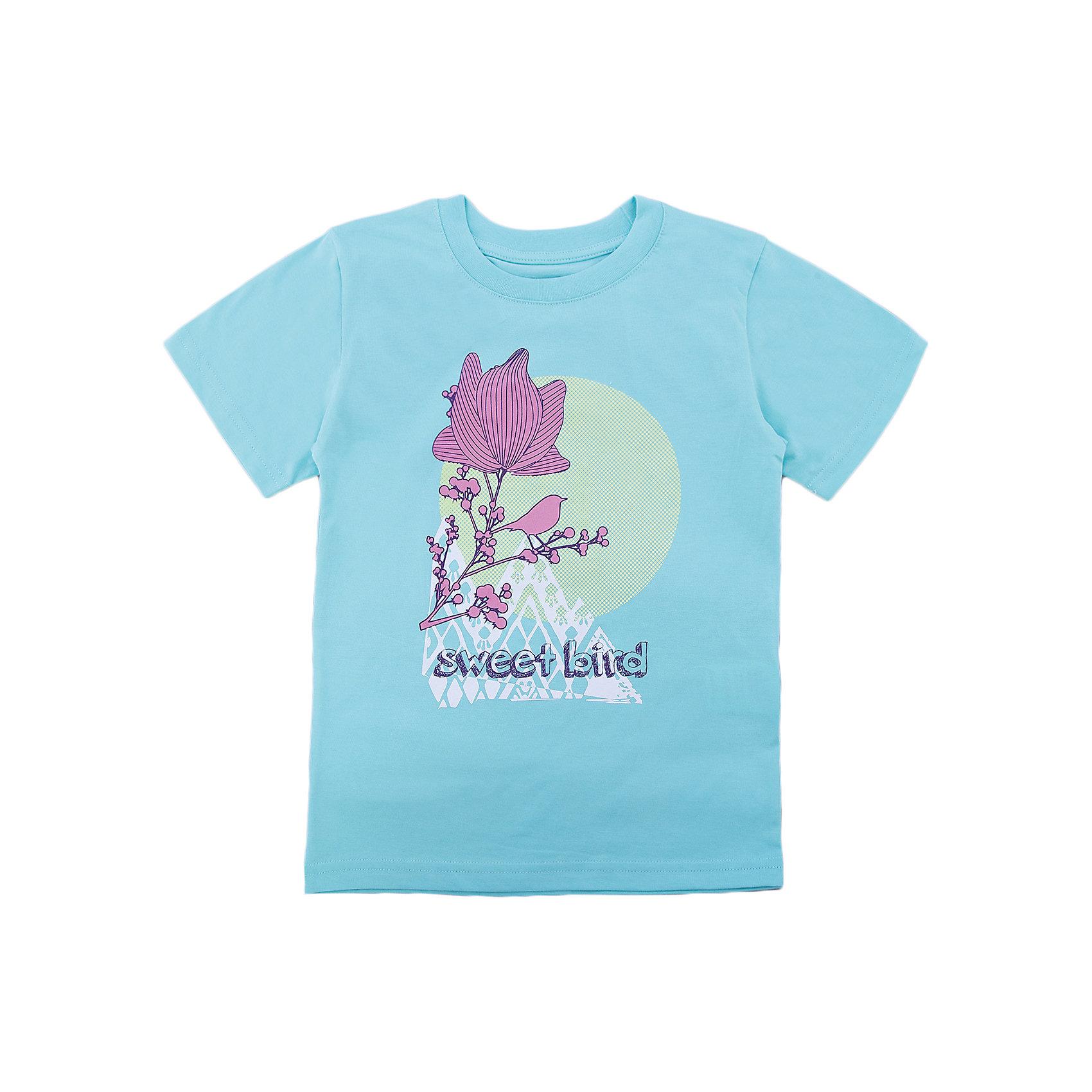 Футболка для девочки WOWФутболки, поло и топы<br>Футболка для девочки WOW<br>Незаменимой вещью в  гардеробе послужит футболка с коротким рукавом. Стильная и в тоже время комфортная модель, с яркой оригинальной печатью, будет превосходно смотреться на ребенке.<br>Состав:<br>кулирная гладь 100% хлопок<br><br>Ширина мм: 199<br>Глубина мм: 10<br>Высота мм: 161<br>Вес г: 151<br>Цвет: голубой<br>Возраст от месяцев: 108<br>Возраст до месяцев: 120<br>Пол: Женский<br>Возраст: Детский<br>Размер: 140,146,152,158,164,128,134<br>SKU: 6871795