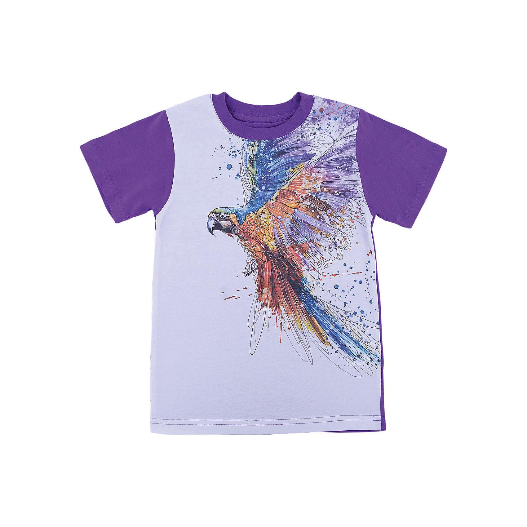 Футболка для девочки WOWФутболки, поло и топы<br>Футболка для девочки WOW<br>Незаменимой вещью в  гардеробе послужит футболка с коротким рукавом. Стильная и в тоже время комфортная модель, с яркой оригинальной печатью, будет превосходно смотреться на ребенке.<br>Состав:<br>кулирная гладь 100% хлопок<br><br>Ширина мм: 199<br>Глубина мм: 10<br>Высота мм: 161<br>Вес г: 151<br>Цвет: лиловый<br>Возраст от месяцев: 156<br>Возраст до месяцев: 168<br>Пол: Женский<br>Возраст: Детский<br>Размер: 164,128,134,140,146,152,158<br>SKU: 6871819