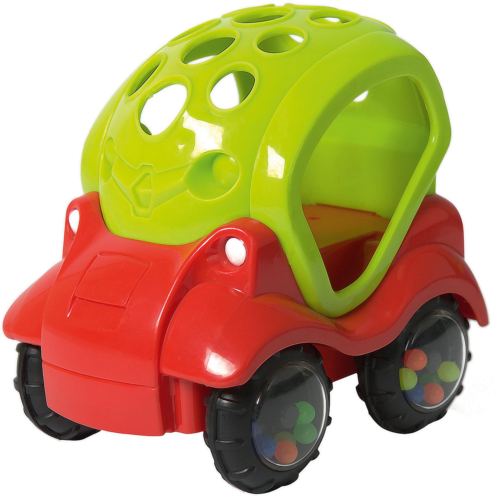 Машинка-неразбивайка Baby Trend, зелено-краснаяМашинки и транспорт для малышей<br>Характеристики:<br><br>• возраст: от 3 месяцев<br>• материал: мягкий гибкий пластик<br>• машинка-погремушка<br>• размер упаковки: 11,9х12,2х9,7 см.<br>• вес: 153 гр.<br><br>Яркая машинка-неразбивайка от Baby Trend (Беби Тренд) – это первая машина малыша. Она изготовлена из мягкого гибкого высококачественного пластика. Машинка не имеет острых и опасных выступов. Благодаря уникальной форме ее удобно держать маленькими пальчиками.<br><br>В колесах машинки под прозрачными дисками находятся цветные шарики, которые задорно гремят при движении машинки или при встряхивании игрушки. Мягкие рельефные детали крыши можно кусать, они успокоят нежные десна малыша.<br><br>Машинку-неразбивайку, зелено-красную, Baby Trend (Беби Тренд) можно купить в нашем интернет-магазине.<br><br>Ширина мм: 119<br>Глубина мм: 122<br>Высота мм: 97<br>Вес г: 153<br>Возраст от месяцев: 3<br>Возраст до месяцев: 2147483647<br>Пол: Мужской<br>Возраст: Детский<br>SKU: 6872162