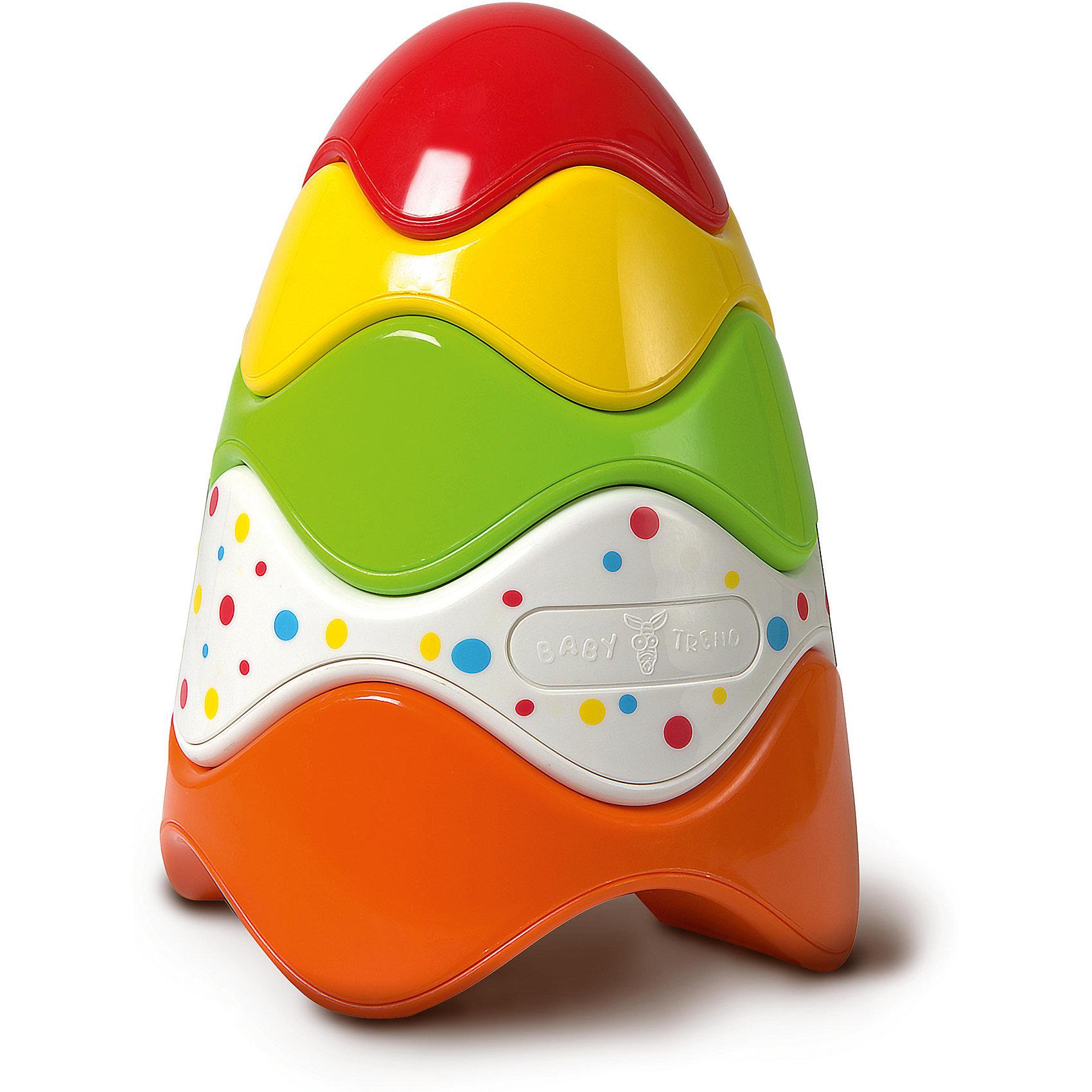 Пирамидка Baby TrendПирамидки<br>Характеристики:<br><br>• возраст: от 1 года<br>• количество элементов: 5<br>• материал: пластик<br>• размер игрушки: 18х13 см.<br>• размер упаковки: 21х14х14 см.<br>• вес: 153 гр.<br><br>Яркая разноцветная пирамидка с колечками необычной формы – отличная развивающая игрушка для самых маленьких. Благодаря уникальной форме колечек пирамидка собирается без стержня-подставки, при этом разноцветные колечки можно складывать в любом порядке. Пирамидку удобно собирать маленькими ручками.<br><br>Пирамидка от Baby Trend (Беби Тренд) развивает моторику, цветовое восприятие, логические навыки, знакомит малышей со свойствами предметов и их величиной.<br><br>Пирамидку, Baby Trend (Беби Тренд) можно купить в нашем интернет-магазине.<br><br>Ширина мм: 140<br>Глубина мм: 205<br>Высота мм: 140<br>Вес г: 153<br>Возраст от месяцев: 12<br>Возраст до месяцев: 2147483647<br>Пол: Унисекс<br>Возраст: Детский<br>SKU: 6872168