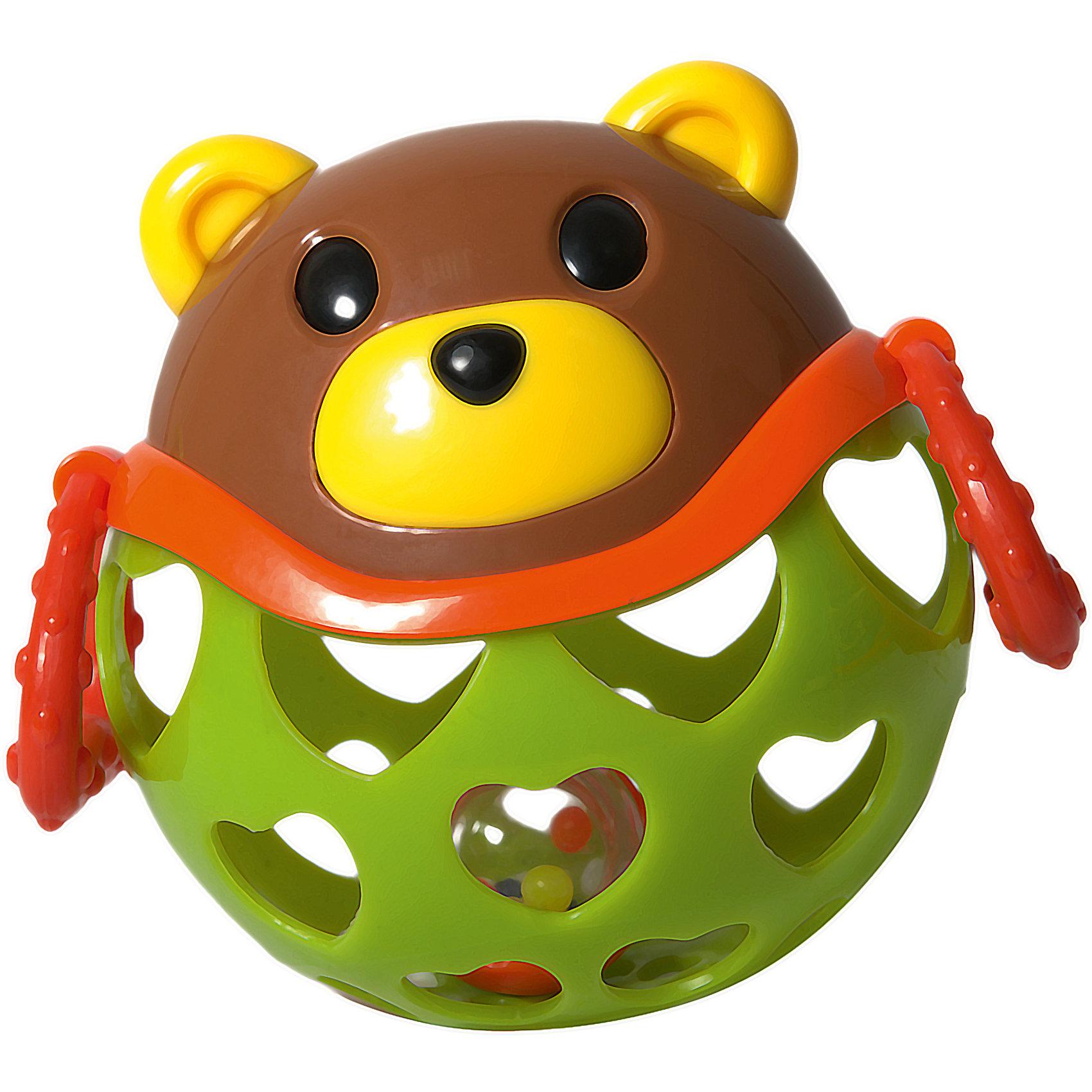 Игрушка-неразбивайка Медведь, Baby TrendРазвивающие игрушки<br>Смешной медвежонок – играй, веселись и развивайся!<br><br>Внутри игрушки спрятана погремушка, которая издают забавнёт звуки, когда малыш трясёт её<br>Рельефные ручки можно использовать в качестве прорезывателей для зубок – они успокоят нежные дёсны малыша<br>Благодаря уникальной форме игрушку удобно держать маленькими пальчиками<br>Выполнена из мягкого гибкого пластика<br>Развивает моторику, слух, зрение<br><br>Размер игрушки: 11 х 11,5 см х 7,5 см<br>Размер упаковки: 16,5 х 11,5 х 7,5 см<br><br>Ширина мм: 140<br>Глубина мм: 135<br>Высота мм: 105<br>Вес г: 181<br>Возраст от месяцев: 3<br>Возраст до месяцев: 2147483647<br>Пол: Унисекс<br>Возраст: Детский<br>SKU: 6872169