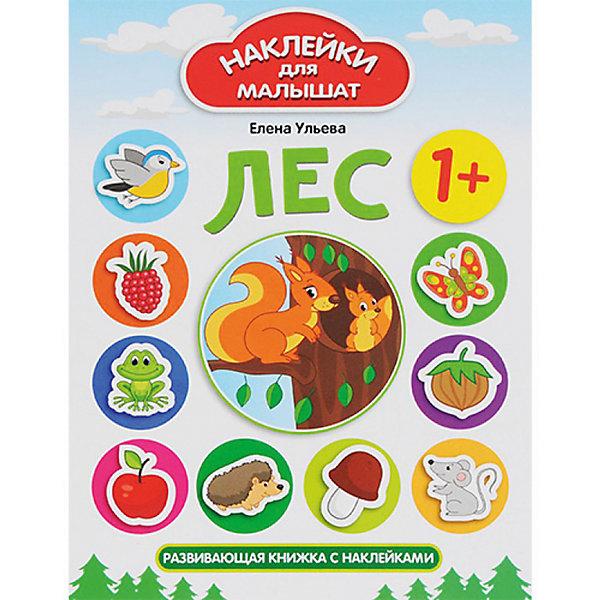 Комплект наклеек для малышей  Лес+ ДеревняКнижки с наклейками<br>Характеристики:<br><br>• ISBN: 978-5-222-27743-0;<br>• ISBN: 978-5-222-27742-3;<br>• возраст: от 1 года;<br>• формат: 84х108/16;<br>• бумага: мелованная;<br>• тип обложки: мягкий переплет (крепление скрепкой или клеем);<br>• иллюстрации: цветные;<br>• серия: Наклейки для малышат;<br>• издательство: Феникс, 2017 г.;<br>• автор: Ульева Елена Александровна;<br>• художник: Таширова Юлия;<br>• количество страниц в книге: 8;<br>• размеры книги: 26х20х0,2 см;<br>• масса книги: 58 г.<br><br>В набор «Наклейки для малышей. Лес + Деревня» входит 2 книжки: <br><br>• «Лес: развивающая книжка с наклейками»;<br>• «Деревня: развивающая книжка с наклейками».<br><br>Яркие тематические книжки для занятий с малышами помогут познакомить мальчиков и девочек с понятиями большой-маленький, высокий-низкий, а также выучить домашних и диких животных, цифры, цвета и фигуры.<br><br>В каждой книге есть красочные наклейки для выполнения заданий. <br><br>Издание удобного формата можно взять с собой на отдых.<br><br>Набор книг «Наклейки для малышей. Лес + Деревня», Ульева Елена Александровна, Феникс, можно купить в нашем интернет-магазине.<br>Ширина мм: 260; Глубина мм: 201; Высота мм: 20; Вес г: 354; Возраст от месяцев: 12; Возраст до месяцев: 2147483647; Пол: Унисекс; Возраст: Детский; SKU: 6873666;
