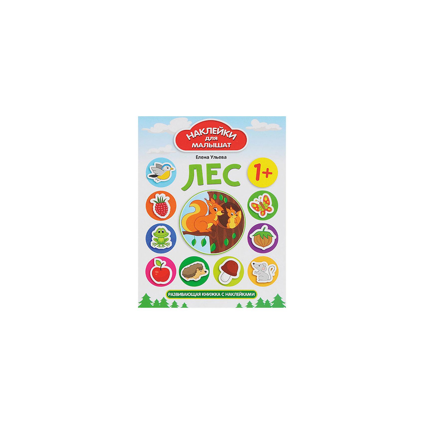 Комплект наклеек для малышей  Лес+ ДеревняКнижки с наклейками<br>Характеристики:<br><br>• ISBN: 978-5-222-27743-0;<br>• ISBN: 978-5-222-27742-3;<br>• возраст: от 1 года;<br>• формат: 84х108/16;<br>• бумага: мелованная;<br>• тип обложки: мягкий переплет (крепление скрепкой или клеем);<br>• иллюстрации: цветные;<br>• серия: Наклейки для малышат;<br>• издательство: Феникс, 2017 г.;<br>• автор: Ульева Елена Александровна;<br>• художник: Таширова Юлия;<br>• количество страниц в книге: 8;<br>• размеры книги: 26х20х0,2 см;<br>• масса книги: 58 г.<br><br>В набор «Наклейки для малышей. Лес + Деревня» входит 2 книжки: <br><br>• «Лес: развивающая книжка с наклейками»;<br>• «Деревня: развивающая книжка с наклейками».<br><br>Яркие тематические книжки для занятий с малышами помогут познакомить мальчиков и девочек с понятиями большой-маленький, высокий-низкий, а также выучить домашних и диких животных, цифры, цвета и фигуры.<br><br>В каждой книге есть красочные наклейки для выполнения заданий. <br><br>Издание удобного формата можно взять с собой на отдых.<br><br>Набор книг «Наклейки для малышей. Лес + Деревня», Ульева Елена Александровна, Феникс, можно купить в нашем интернет-магазине.<br><br>Ширина мм: 260<br>Глубина мм: 201<br>Высота мм: 20<br>Вес г: 354<br>Возраст от месяцев: 12<br>Возраст до месяцев: 2147483647<br>Пол: Унисекс<br>Возраст: Детский<br>SKU: 6873666