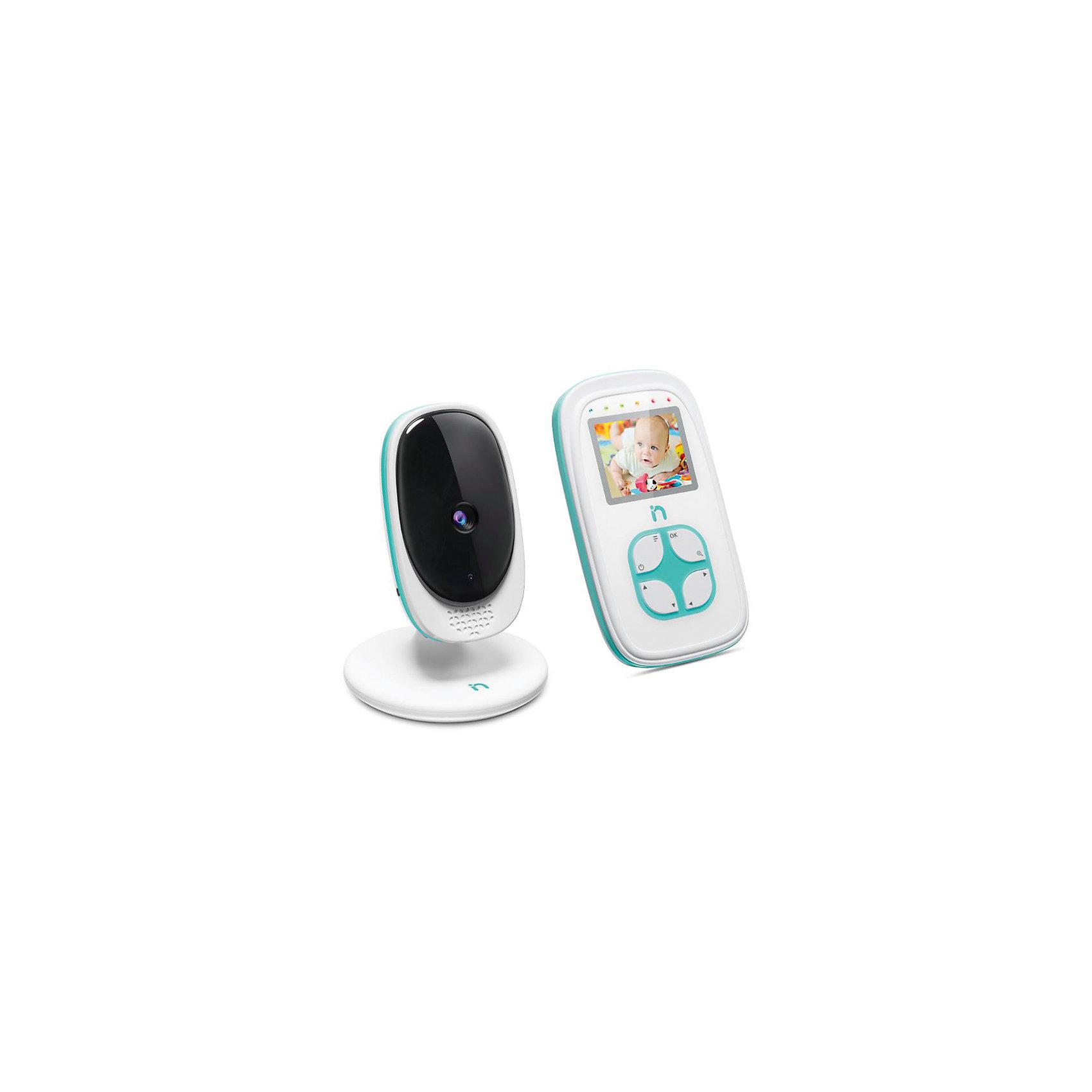 Видеоняня с LCD дисплеем 2'' iNanny, цифроваяДетская бытовая техника<br>Цветной ЖК-дисплей  2'' с разрешением 220x176 пикс. Камера может работает от батареек (до 2 часов непрерывной работы). Световой индикатор шума. Функция ночного видения. Возможность подключения до 4 камер одновременно<br>Цветная передача изображения в высоком качестве. Кристально чистый звук. Радиус действия: 300 метров<br><br>Ширина мм: 140<br>Глубина мм: 220<br>Высота мм: 100<br>Вес г: 558<br>Возраст от месяцев: 0<br>Возраст до месяцев: 24<br>Пол: Унисекс<br>Возраст: Детский<br>SKU: 6875626