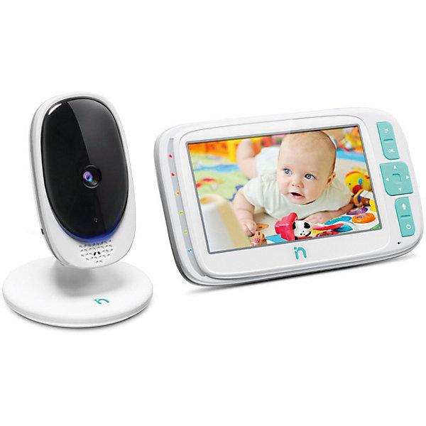 Видеоняня с LCD дисплеем 5'' iNanny, цифроваяВидеоняни<br>Характеристики товара:<br><br>• беспроводная система видеонаблюдения;<br>• цветной ЖК-дисплей с диагональю 5 дюймов (12,7 см);<br>• разрешение 480x272 пикселей;<br>• частота: 2,4 Ггц;<br>• ЭКО-режим;<br>• функция двусторонней связи;<br>• функция ночного видения;<br>• световой индикатор шума;<br>• 5 колыбельных мелодий;<br>• работа камеры: от батареек (до 2 часов непрерывной работы);<br>• радиус действия: до 300 метров на открытом пространстве;<br>• возможность подключения до 4 камер одновременно;<br>• обратите внимание: в комплекте 1 камера;<br>• размер упаковки: 22,5х15х10 см;<br>• вес: 686 г.<br><br>Комплектация:<br><br>• детский блок – камера;<br>• родительский блок – монитор;<br>• 1 аккумулятор для монитора;<br>• 2 сетевых адаптера питания;<br>• инструкция.<br><br>Цифровую видеоняню с LCD дисплеем 5'', iNanny можно купить в нашем интернет-магазине.<br><br>Ширина мм: 225<br>Глубина мм: 150<br>Высота мм: 110<br>Вес г: 686<br>Возраст от месяцев: 0<br>Возраст до месяцев: 24<br>Пол: Унисекс<br>Возраст: Детский<br>SKU: 6875627
