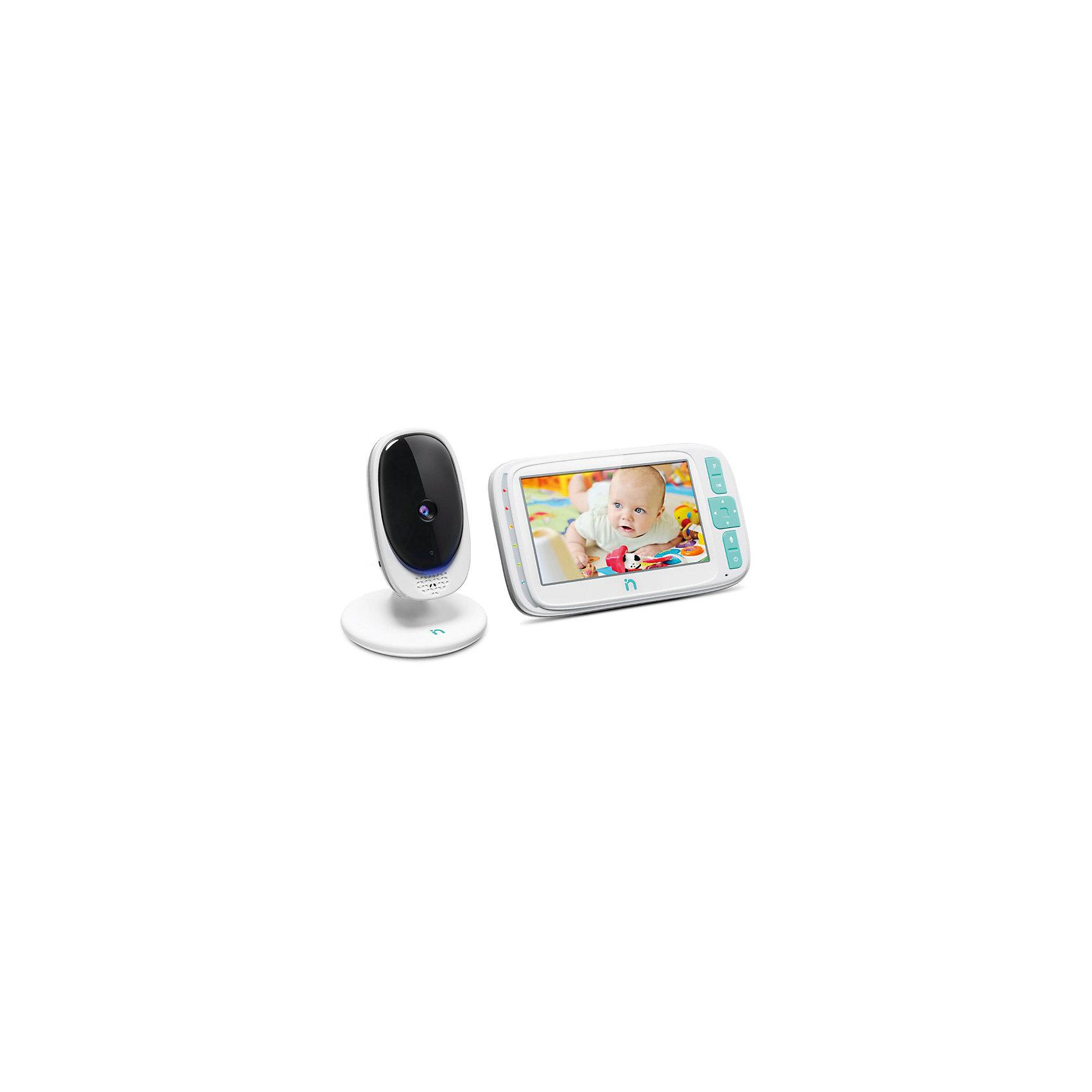 """Видеоняня с LCD дисплеем 5'' iNanny, цифроваяДетская бытовая техника<br>ЖК-дисплей 5"""" с разрешением 480x272 пикс. Камера может работает от батареек (до 2 часов непрерывной работы). Двухсторонняя связь. 5 колыбельных мелодий. Световой индикатор шума. Функция ночного видения. Возможность подключения до 4 камер одновременно. Цветная передача изображения в высоком качестве. ECO-режим. Кристально чистый звук. Дисплей: 5"""". Радиус действия 300 метров<br><br>Ширина мм: 225<br>Глубина мм: 150<br>Высота мм: 110<br>Вес г: 686<br>Возраст от месяцев: 0<br>Возраст до месяцев: 24<br>Пол: Унисекс<br>Возраст: Детский<br>SKU: 6875627"""