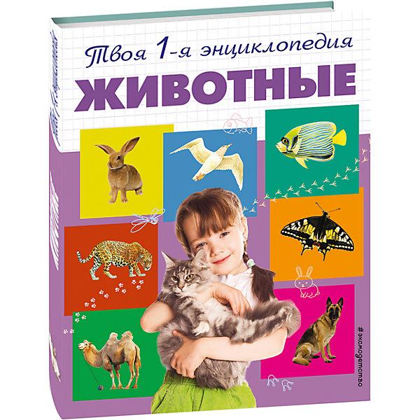 ЖивотныеДетские энциклопедии<br>Характеристики товара:<br><br>• ISBN: 978-5-699-66740-6;<br>• возраст: от 5 лет;<br>• формат: 84х108/16;<br>• бумага: мелованная; <br>• тип обложки: 7Б - твердая (целлофанированная или лакированная);<br>• иллюстрации: цветные;<br>• серия: 5+ Твоя первая энциклопедия;<br>• издательство: Эксмо 2013 г.;<br>• автор: Травина Ирина Владимировна;<br>• редактор: Саломатина Е.И.;<br>• художник: Сичкарь А.Н.;<br>• количество страниц: 96;<br>• размеры: 26,4х20,5х1 см;<br>• масса: 390 г.<br><br>Книга с интересными рассказами о животных понравится мальчикам и девочкам. Красочные иллюстрации и необычные факты увлекут маленьких читателей и познакомят с загадочным миром тропических, домашних, морских животных и птиц. В энциклопедии ребята найдут ответы на все интересующие их вопросы о том, как питаются, растут и взаимодействуют друг с другом животные нашей планеты.<br><br>Дети старшего возраста смогут заниматься самостоятельно – у книги удобный формат, крупный шрифт и понятные слова. <br><br>Собирая коллекцию книг «Твоя первая энциклопедия», школьники получат полезные знания и расширят кругозор. <br><br>Книгу «Животные», Травина И.В., Eksmo можно купить в нашем интернет-магазине.<br>Ширина мм: 280; Глубина мм: 220; Высота мм: 10; Вес г: 428; Возраст от месяцев: 72; Возраст до месяцев: 144; Пол: Унисекс; Возраст: Детский; SKU: 6877917;