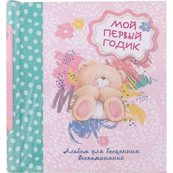 Альбом для бесценных воспоминаний Мой первый годикАльбомы для новорожденного<br>Характеристики:<br><br>• ISBN: 978-5-699-81512-8;<br>• возраст: 0+;<br>• формат: 90х100/16;<br>• бумага: мелованная; <br>• тип обложки: 7Б - твердая (плотная бумага или картон);<br>• оформление: частичная лакировка;<br>• иллюстрации: цветные;<br>• серия: Forever Friends. Книги-сувениры;<br>• издательство: Эксмо, 2016 г.;<br>• количество страниц: 32;<br>• размеры: 25х22,8х1,6 см;<br>• масса: 380 г.<br><br>Лучший подарок для родителей новорожденного – это альбом для записей и фотографий малыша. <br><br>Обложка альбома украшена нарядным лакированием с глиттером. Альбом собран на спираль. В нем есть место для приклеивания более 40 фотографий, а также 4 больших конверта для хранения сувениров или дисков с фотографиями. <br><br>В подарочном альбоме есть много места для памятных записей. <br><br>Книгу «Альбом для бесценных воспоминаний «Мой первый годик», Эксмо можно купить в нашем интернет-магазине.<br><br>Ширина мм: 260<br>Глубина мм: 230<br>Высота мм: 10<br>Вес г: 385<br>Возраст от месяцев: 0<br>Возраст до месяцев: 12<br>Пол: Унисекс<br>Возраст: Детский<br>SKU: 6878170