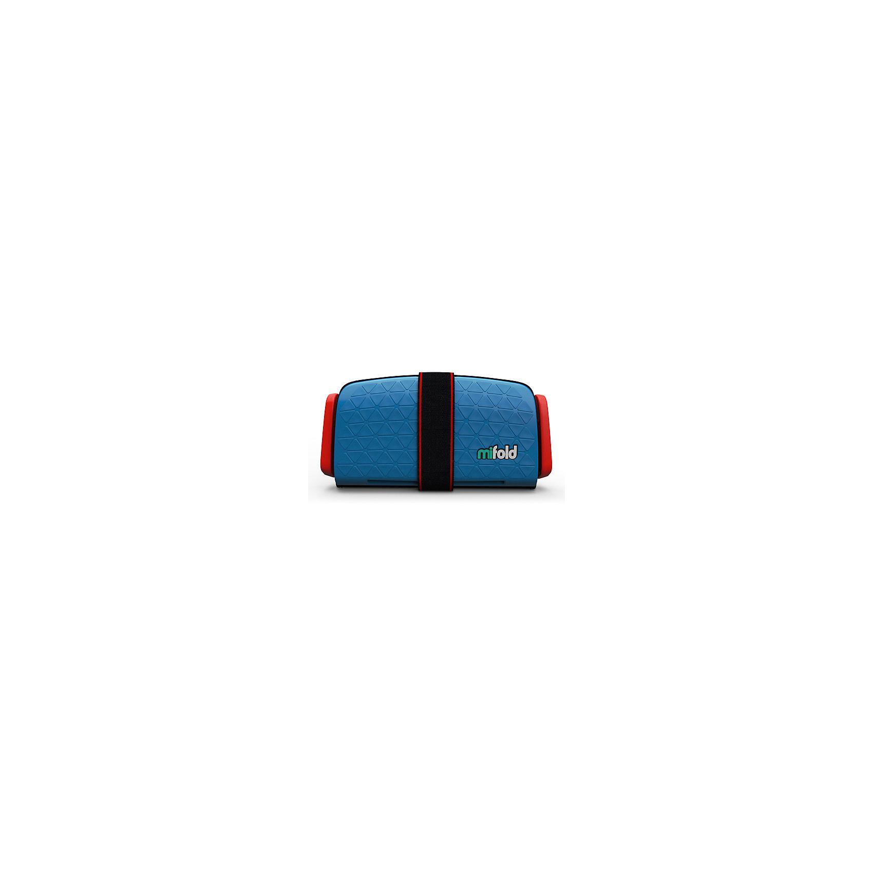 Автокресло-бустер Mifold 15-36 кг, denim blueБустеры<br>Бустер автомобильный Mifold - the Grab-and-Go Booster seat/Denim Blue<br><br>Ширина мм: 165<br>Глубина мм: 250<br>Высота мм: 70<br>Вес г: 950<br>Цвет: голубой<br>Возраст от месяцев: 48<br>Возраст до месяцев: 144<br>Пол: Унисекс<br>Возраст: Детский<br>SKU: 6878752