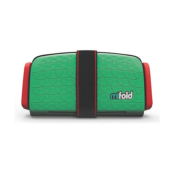 Автокресло-бустер Mifold 15-36 кг, lime greenГруппа 3 (от 22 до 36 кг) Бустеры<br>Характеристики:<br><br>• вес ребенка: 15-36 кг;<br>• возраст ребенка: от 4 до 12 лет;<br>• способ установки: на заднем сидении автомобиля или на переднем с отключенной подушкой безопасности;<br>• компактные размеры в сложенном виде: помещается в бардачке автомобиля;<br>• в 10 раз меньше стандартных бустеров;<br>• ударопрочный металл;<br>• регулируемая ширина натяжителей ремней, 3 положения;<br>• ремни безопаснсоти регулируются по высоте;<br>• материал: алюминий марки 6061, полиэстер;<br>• размер автокресла-бустера: 25,5х12,7 см.<br><br>Автокресло-бустер Mifold 15-36 кг, lime green можно купить в нашем интернет-магазине.<br>Ширина мм: 166; Глубина мм: 251; Высота мм: 71; Вес г: 950; Цвет: зеленый; Возраст от месяцев: 48; Возраст до месяцев: 144; Пол: Унисекс; Возраст: Детский; SKU: 6878753;