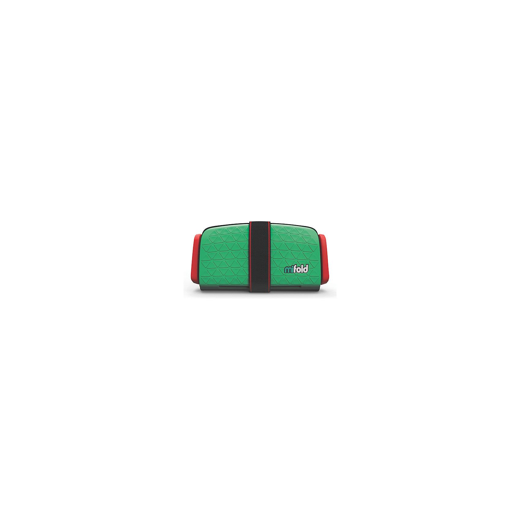 Автокресло-бустер Mifold 15-36 кг, lime greenБустеры<br>Бустер автомобильный Mifold - the Grab-and-Go Booster seat/Lime Green<br><br>Ширина мм: 166<br>Глубина мм: 251<br>Высота мм: 71<br>Вес г: 950<br>Цвет: зеленый<br>Возраст от месяцев: 48<br>Возраст до месяцев: 144<br>Пол: Унисекс<br>Возраст: Детский<br>SKU: 6878753