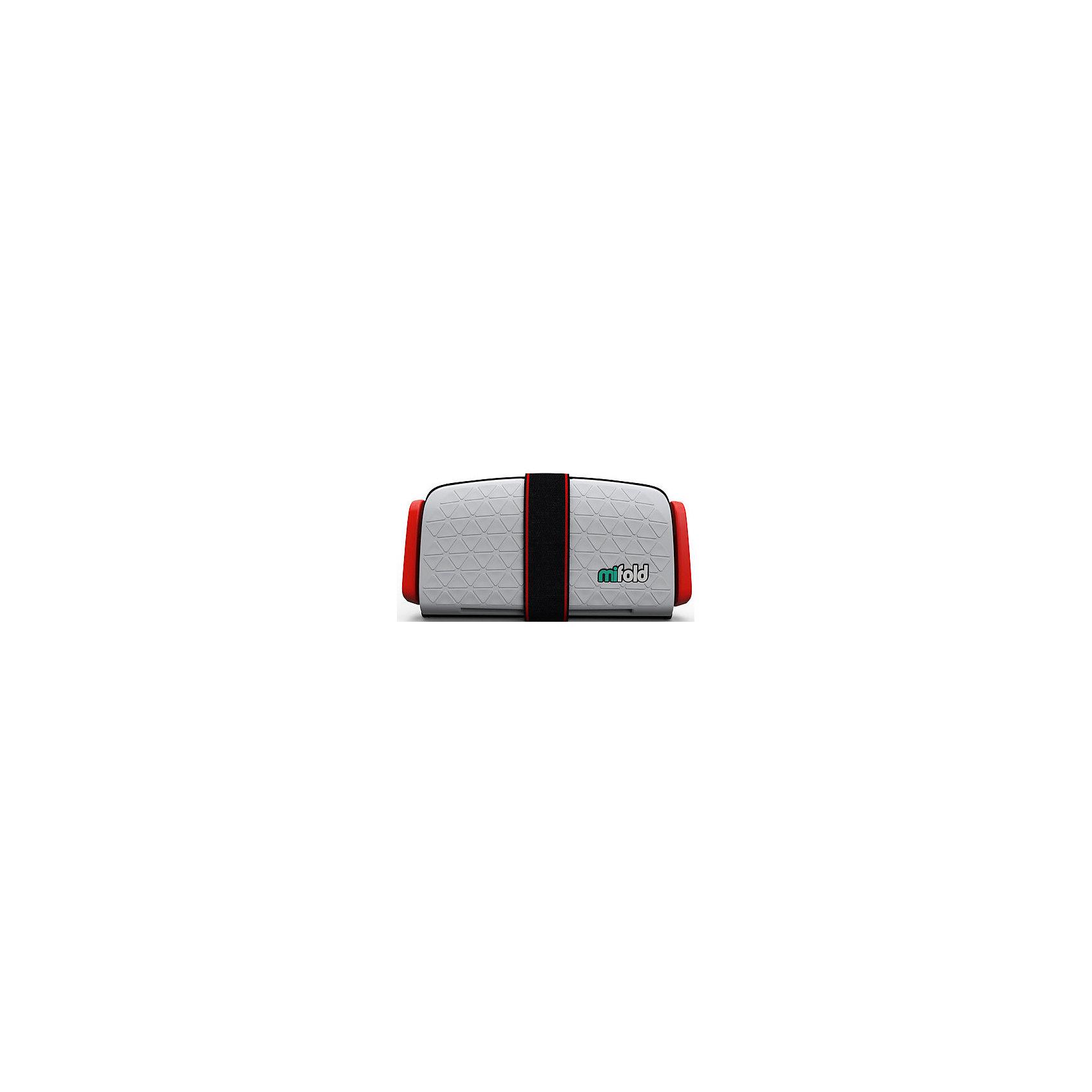 Автокресло-бустер Mifold 15-36 кг, pearl greyБустеры<br>Характеристики товара:<br><br>• цвет: серый;<br>• возраст: от 4 до 12 лет;<br>• в сложенном виде легко поместится в бардачок автомобиля;<br>• в разложенном виде имеет габариты в 10 раз меньше, чем стандартные бустеры других брендов;<br>• легко и быстро складывается до размеров 25.5х12.7 см;<br>• корпус бустера Mifold выполнен из алюминия марки 6061 и выдерживает сильнейшие нагрузки во время столкновения;<br>• вес: 750гр.;<br>• три положения ширины натяжителей ремней и возможность полностью менять высоту ремня, чтобы он проходил ровно по плечу ребенка;<br>• практичный в чистке: достаточно вымыть мыльным раствором и высушить.<br>• страна производства: Израиль.<br><br>Детское портативное автокресло-бустер Mifold - поистине уникальная находка для мобильных родителей. Этот невероятно компактный бустер имеет массу преимуществ и является уникальным в данной возрастной группе (4-12 лет).<br><br>Автокресло-бустер Mifold 15-36 кг можно купить в нашем интернет-магазине.<br><br>Ширина мм: 167<br>Глубина мм: 252<br>Высота мм: 72<br>Вес г: 950<br>Цвет: серый<br>Возраст от месяцев: 48<br>Возраст до месяцев: 144<br>Пол: Унисекс<br>Возраст: Детский<br>SKU: 6878754