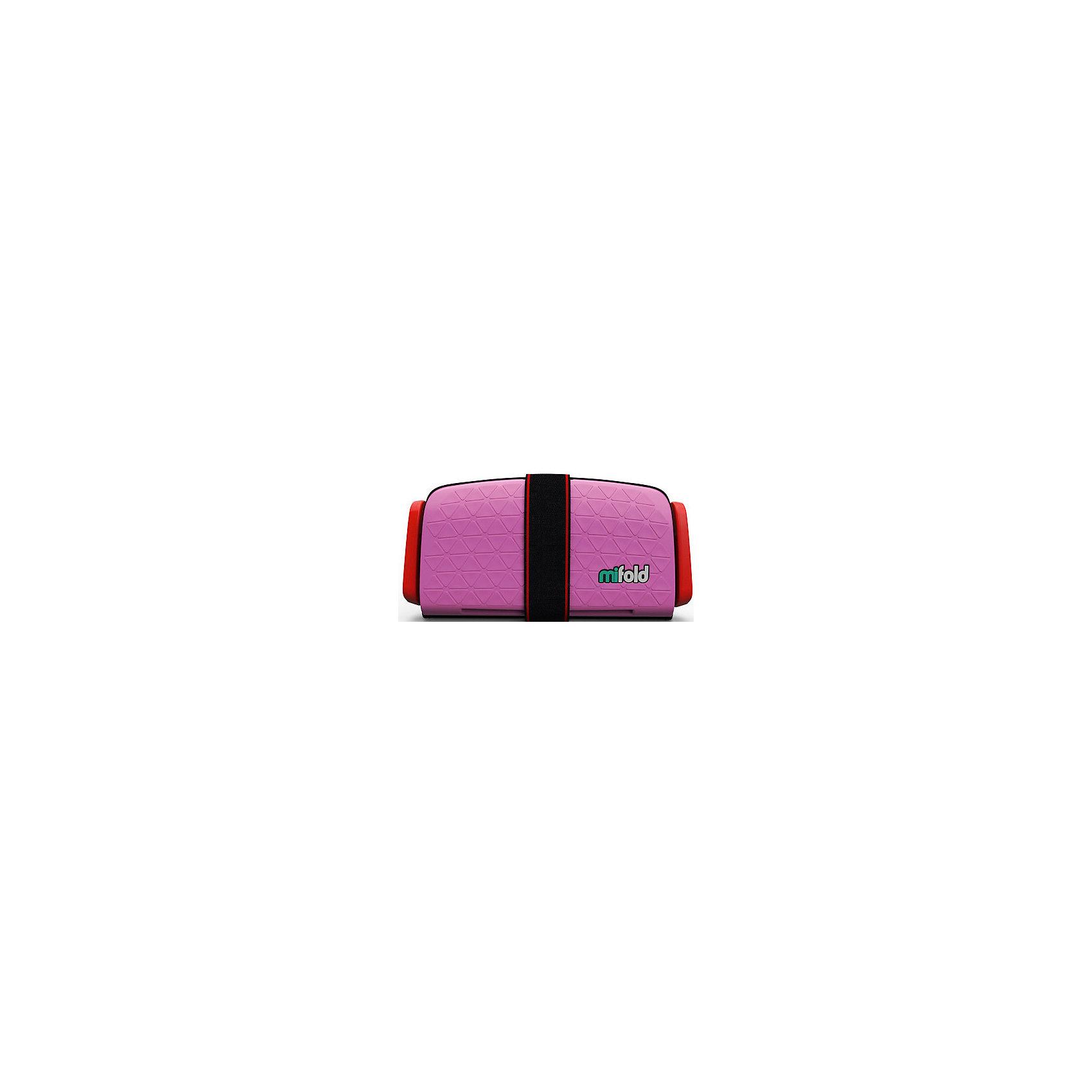Автокресло-бустер Mifold 15-36 кг, perfect pinkБустеры<br>Бустер автомобильный Mifold - the Grab-and-Go Booster seat/Perfect Pink<br><br>Ширина мм: 168<br>Глубина мм: 253<br>Высота мм: 73<br>Вес г: 950<br>Возраст от месяцев: 48<br>Возраст до месяцев: 144<br>Пол: Унисекс<br>Возраст: Детский<br>SKU: 6878755
