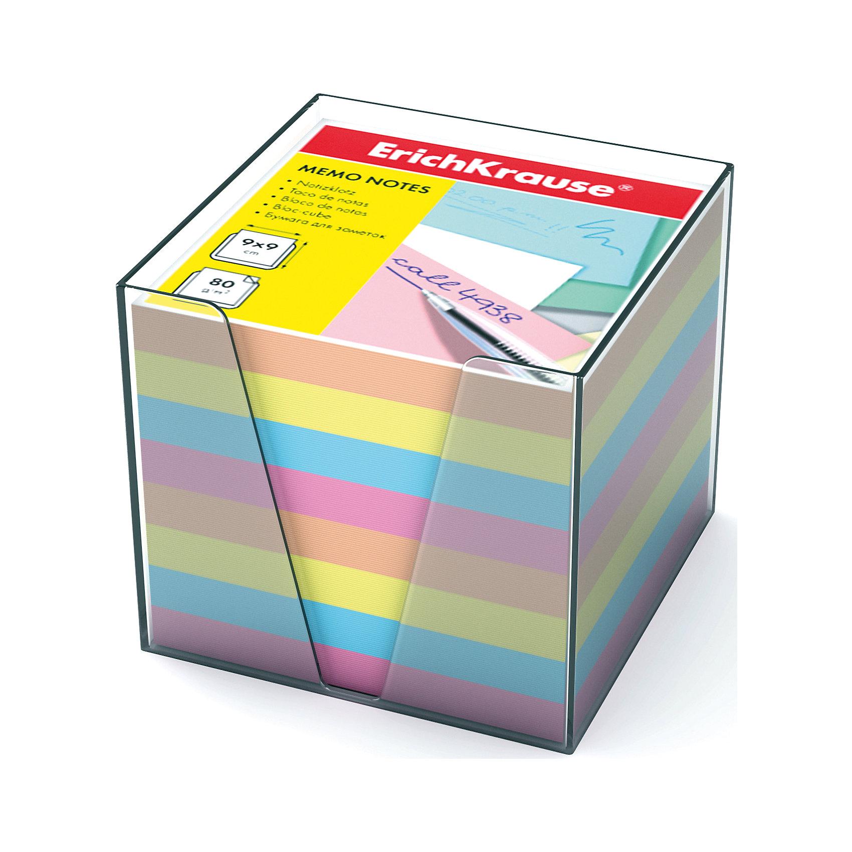 Erich Krause Бумага настольная 90*90*90 мм в пластиковом контейнереБумажная продукция<br>Бумага в пластиковой подставке – незаменимая вещь, которая помогает организовать пространство на Вашем рабочем столе. Лаконичный дизайн и удобство в использовании сделает бумагу для заметок Erich Krause Вашим надёжным помощником.<br><br>Ширина мм: 90<br>Глубина мм: 90<br>Высота мм: 90<br>Вес г: 650<br>Возраст от месяцев: 144<br>Возраст до месяцев: 2147483647<br>Пол: Унисекс<br>Возраст: Детский<br>SKU: 6878808