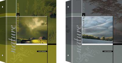 Полиграфика Тетрадь на кольцах, А5 80л ламинат Shade & Light