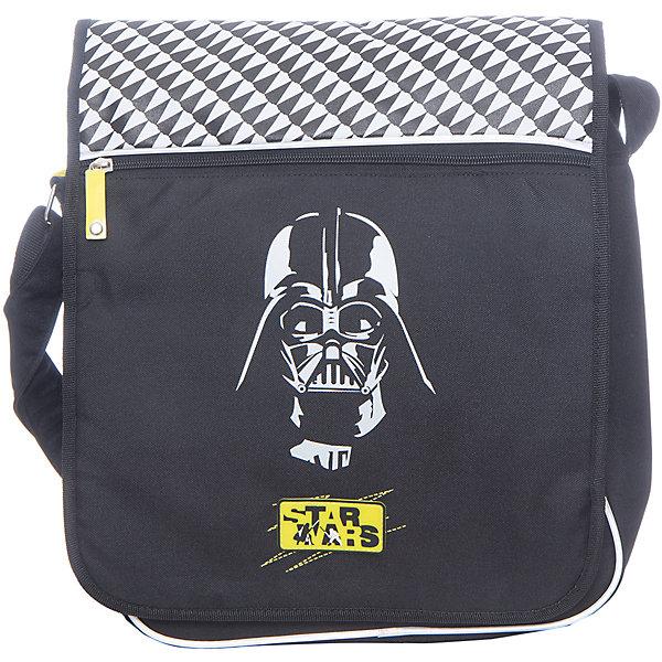 Star Wars Сумка школьная Darth VaderШкольные сумки<br><br>Ширина мм: 450; Глубина мм: 350; Высота мм: 10; Вес г: 628; Возраст от месяцев: 84; Возраст до месяцев: 108; Пол: Мужской; Возраст: Детский; SKU: 6878895;