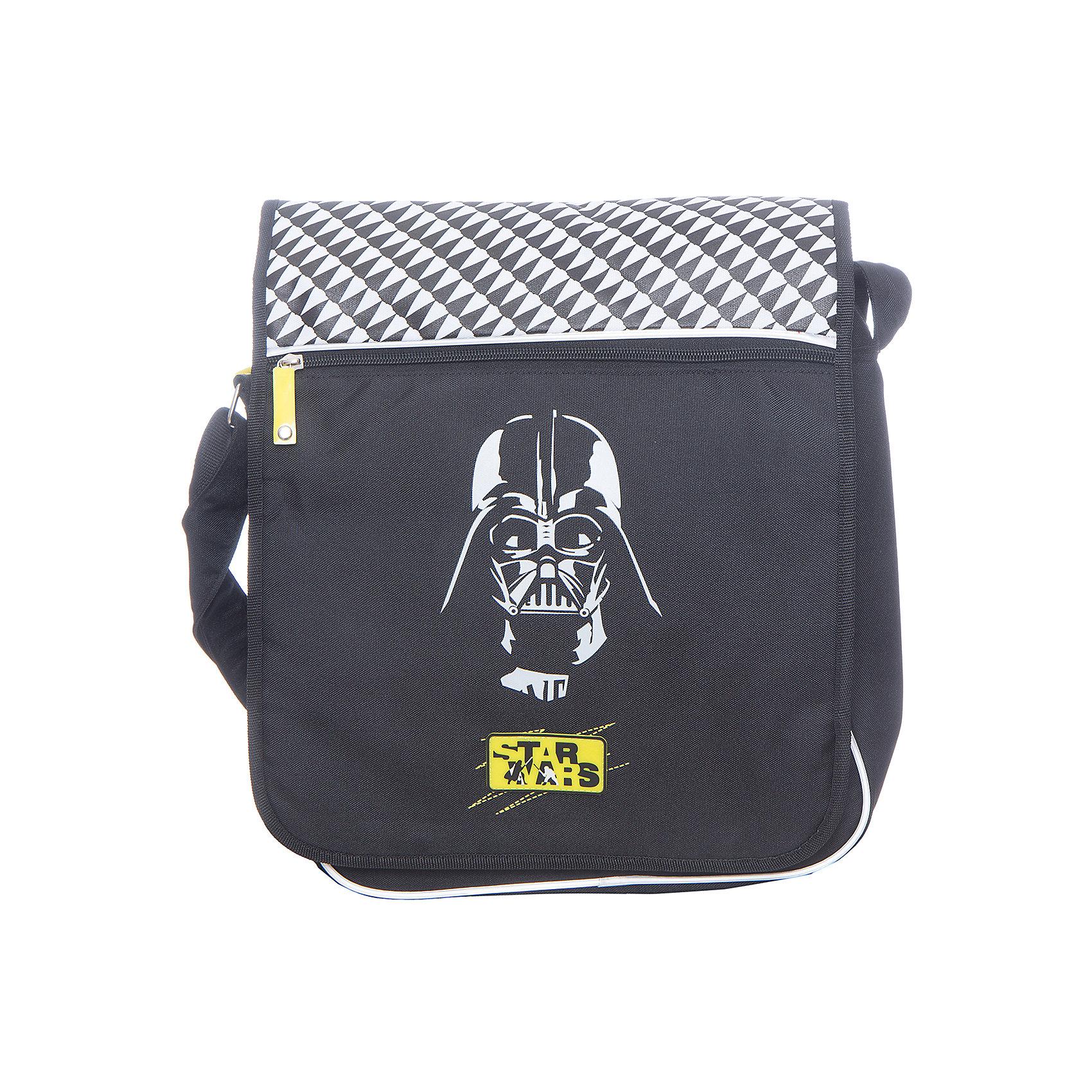Star Wars Сумка школьная Darth VaderШкольные сумки<br><br><br>Ширина мм: 450<br>Глубина мм: 350<br>Высота мм: 10<br>Вес г: 628<br>Возраст от месяцев: 84<br>Возраст до месяцев: 108<br>Пол: Мужской<br>Возраст: Детский<br>SKU: 6878895