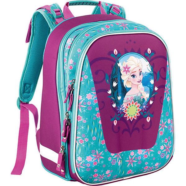 Рюкзак Disney с эргономичной спинкой Elsa ( модель Com Style )Рюкзаки<br><br>Ширина мм: 400; Глубина мм: 280; Высота мм: 170; Вес г: 1265; Возраст от месяцев: 72; Возраст до месяцев: 108; Пол: Женский; Возраст: Детский; SKU: 6878921;