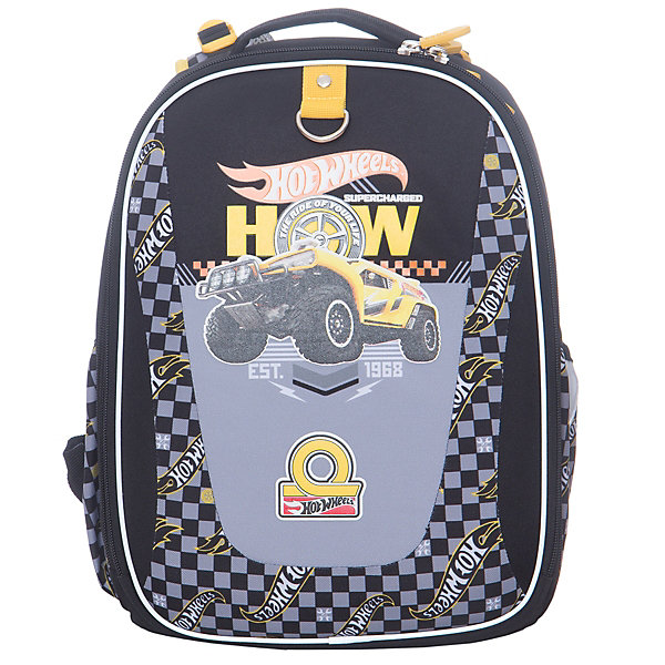 Рюкзак школьный с эргономичной спинкой Hot Wheels: Big Foot (модель Multi Pack mini )
