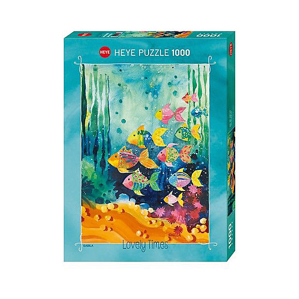 Купить Пазлы Стая рыбок , 1000 деталей, Heye, Германия, Унисекс