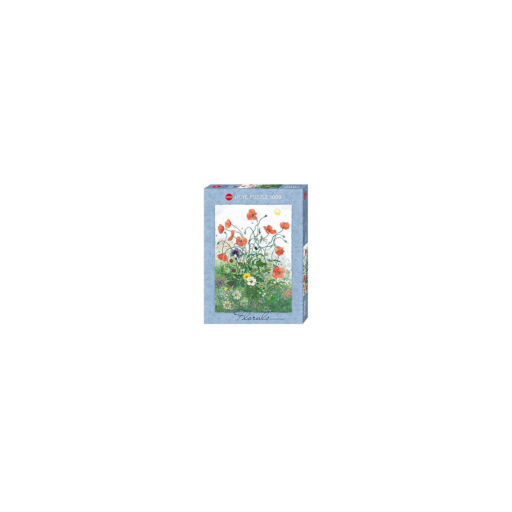 Пазлы Маки, 1000 деталей, с фольгой, HeyeПазлы для детей постарше<br>Характеристики товара:<br><br>• возраст: от 8 лет<br>• количество деталей: 1000 деталей <br>• размер собранного пазла: 70х50 см.<br>• материал: картон<br>• упаковка: картонная коробка в форме треугольника<br>• размер упаковки: 37х27х5 см.<br>• вес: 840 гр.<br>• страна обладатель бренда: Германия<br>                                                                                                                       Яркие элементы  пазла образуют красочную и романтичную картину красных маков в поле, которая замечательно дополнит интерьер и будет поднимать настроение вам и окружающим. <br><br>Оригинальная упаковка пазла в виде треугольника отлично подойдет в качестве оригинального незабываемого подарка подарка.<br><br>Качественный материал элементов пазла позволяет  собрать и сохранить картину, создавая в меру глянцевый эффект (а значит не сильно бликующий) и хорошую сцепку деталей. <br><br>Сбор элементов в одно изображение способствует развитию образного и логического мышления. Является увлекательным и интересным процессом, который в свою очередь обладает великолепным  релаксационным эффектом.<br><br>Пазл Маки, 1000 деталей, HEYE ( ХАЙЕ) можно купить в нашем интернет-магазине.<br><br>Ширина мм: 371<br>Глубина мм: 55<br>Высота мм: 271<br>Вес г: 840<br>Возраст от месяцев: 216<br>Возраст до месяцев: 2147483647<br>Пол: Унисекс<br>Возраст: Детский<br>SKU: 6881440