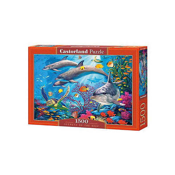 Пазлы  Секреты рифа   , 1500 деталей, CastorlandПазлы для детей постарше<br>Изображение:Секреты рифа. Кол-во деталей 1500.<br><br>Ширина мм: 350<br>Глубина мм: 50<br>Высота мм: 250<br>Вес г: 600<br>Возраст от месяцев: 168<br>Возраст до месяцев: 2147483647<br>Пол: Унисекс<br>Возраст: Детский<br>SKU: 6881582