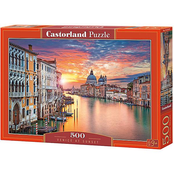 Пазлы Венеция на закате  , 500 деталей, CastorlandПазлы классические<br>Изображение:Венеция на закате. Кол-во деталей 500.<br><br>Ширина мм: 320<br>Глубина мм: 47<br>Высота мм: 220<br>Вес г: 500<br>Возраст от месяцев: 72<br>Возраст до месяцев: 2147483647<br>Пол: Унисекс<br>Возраст: Детский<br>SKU: 6881587