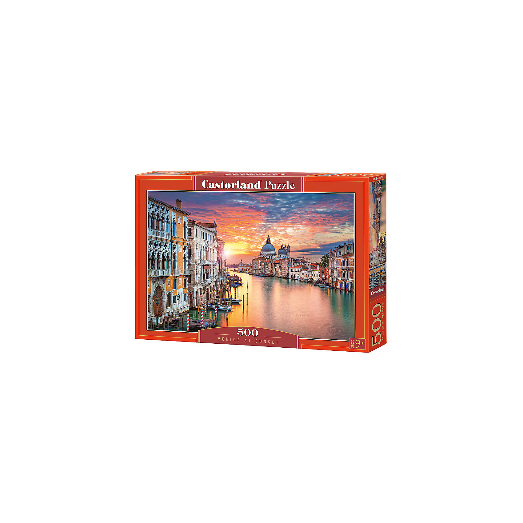 Пазлы Венеция на закате  , 500 деталей, CastorlandПазлы для детей постарше<br>Изображение:Венеция на закате. Кол-во деталей 500.<br><br>Ширина мм: 320<br>Глубина мм: 47<br>Высота мм: 220<br>Вес г: 500<br>Возраст от месяцев: 72<br>Возраст до месяцев: 2147483647<br>Пол: Унисекс<br>Возраст: Детский<br>SKU: 6881587