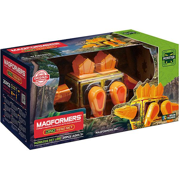Купить Магнитный конструктор 716001 Dino Tego set, MAGFORMERS, Китай, Унисекс